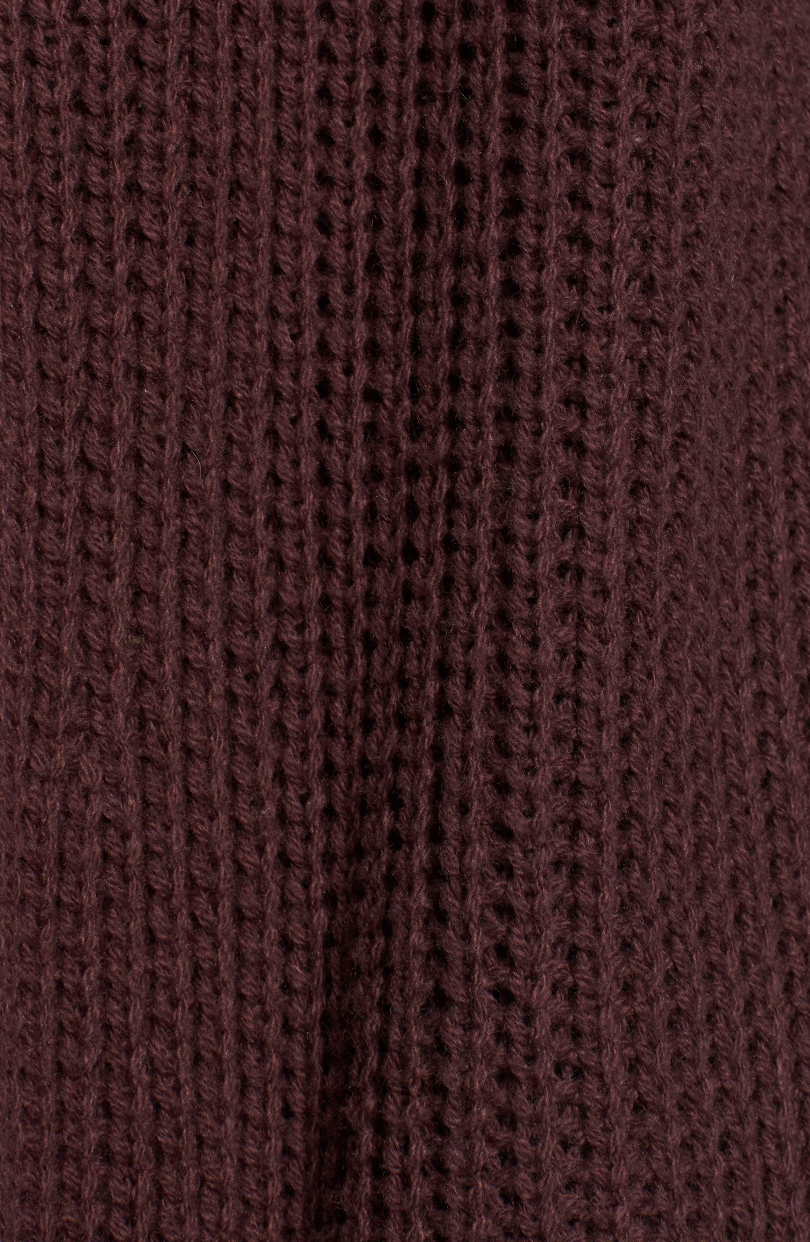 Lace-Up Back Cardigan,                             Alternate thumbnail 6, color,                             938