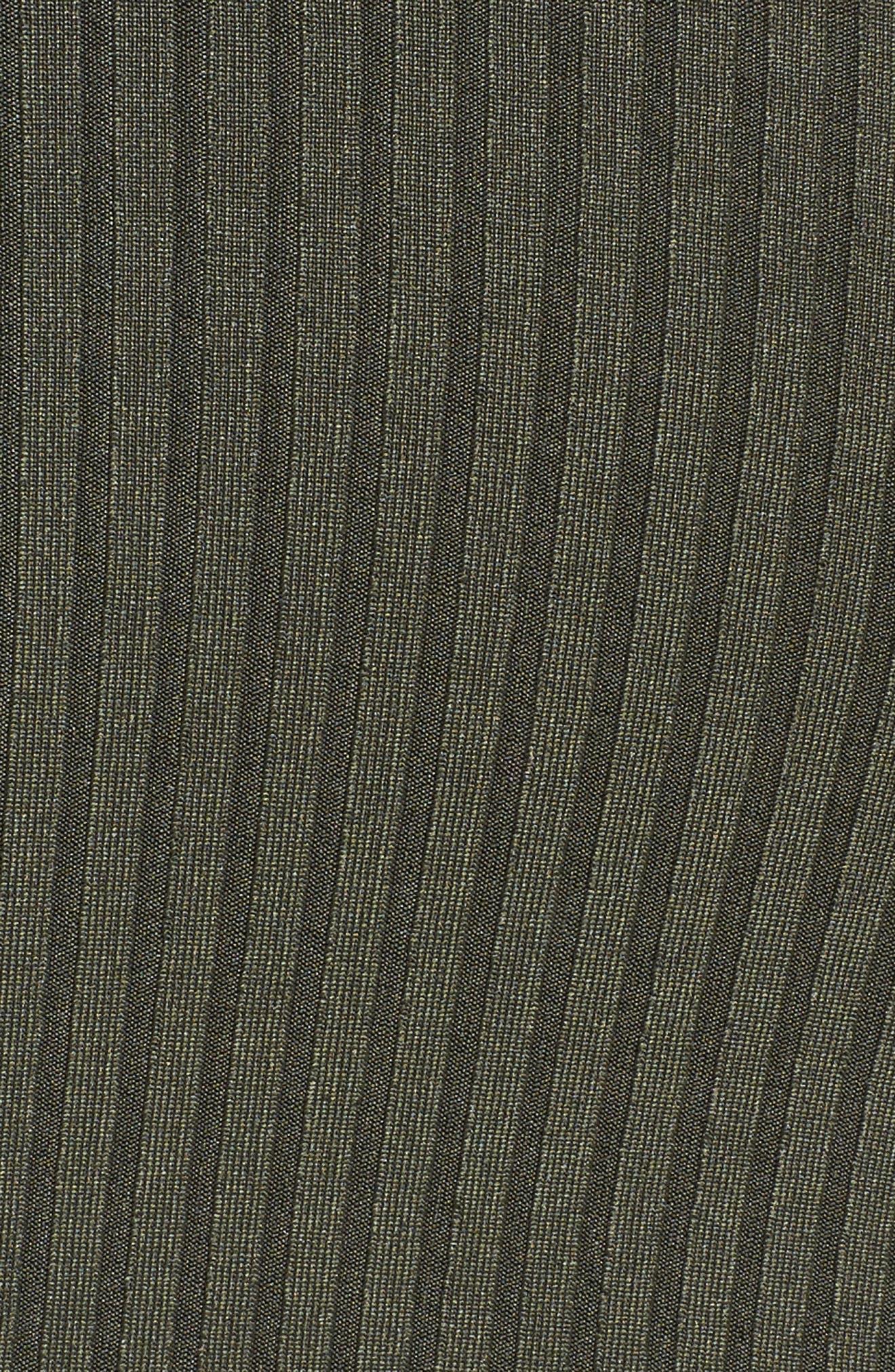Ruffle Cold Shoulder Knit Jumpsuit,                             Alternate thumbnail 5, color,                             360