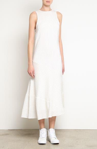 Wilkie Seersucker Striped Sheath Dress, video thumbnail