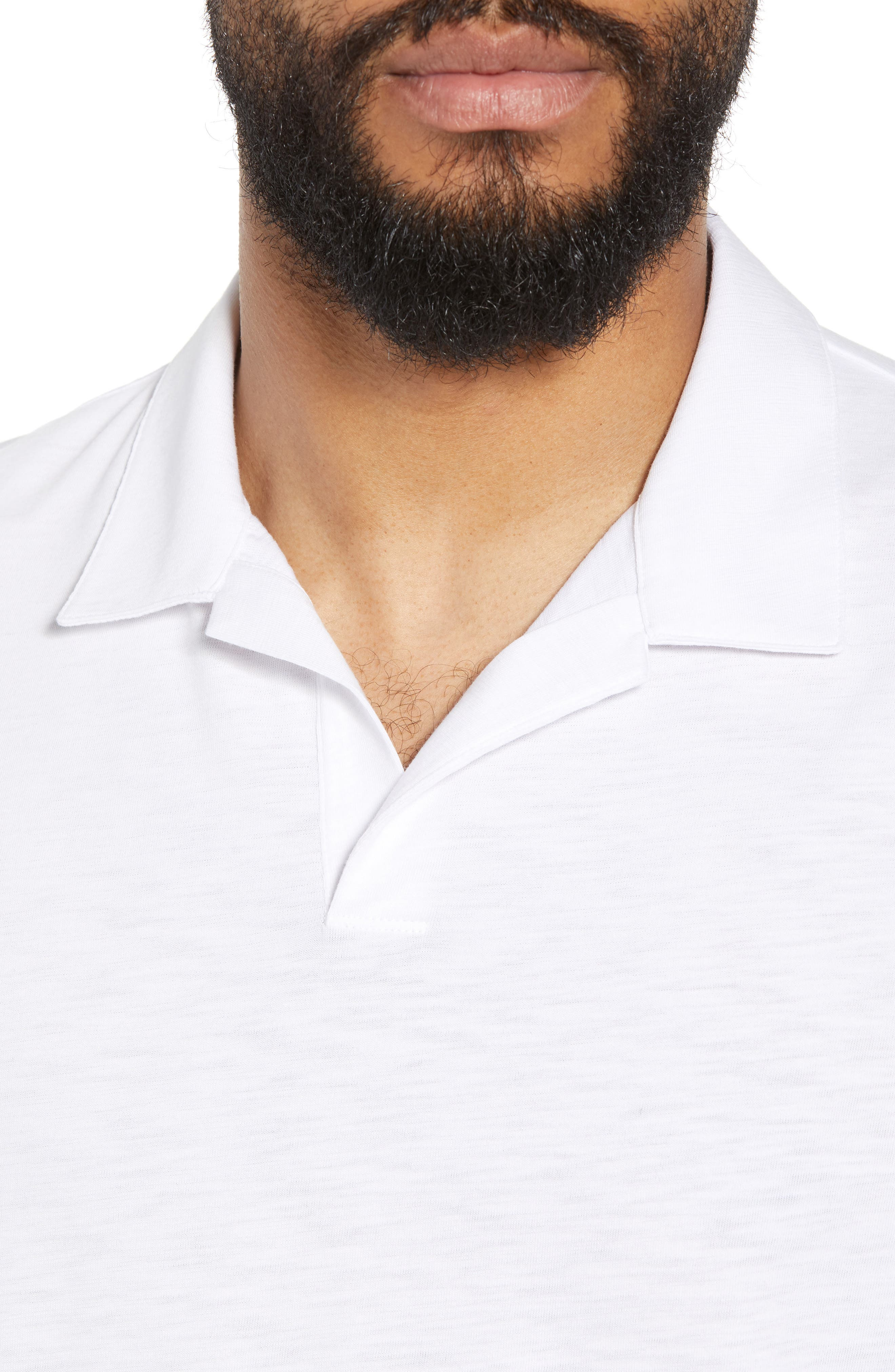 Willem Strato Regular Fit Polo,                             Alternate thumbnail 4, color,                             108