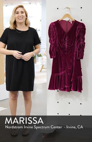 Ruched Velvet Dress, sales video thumbnail