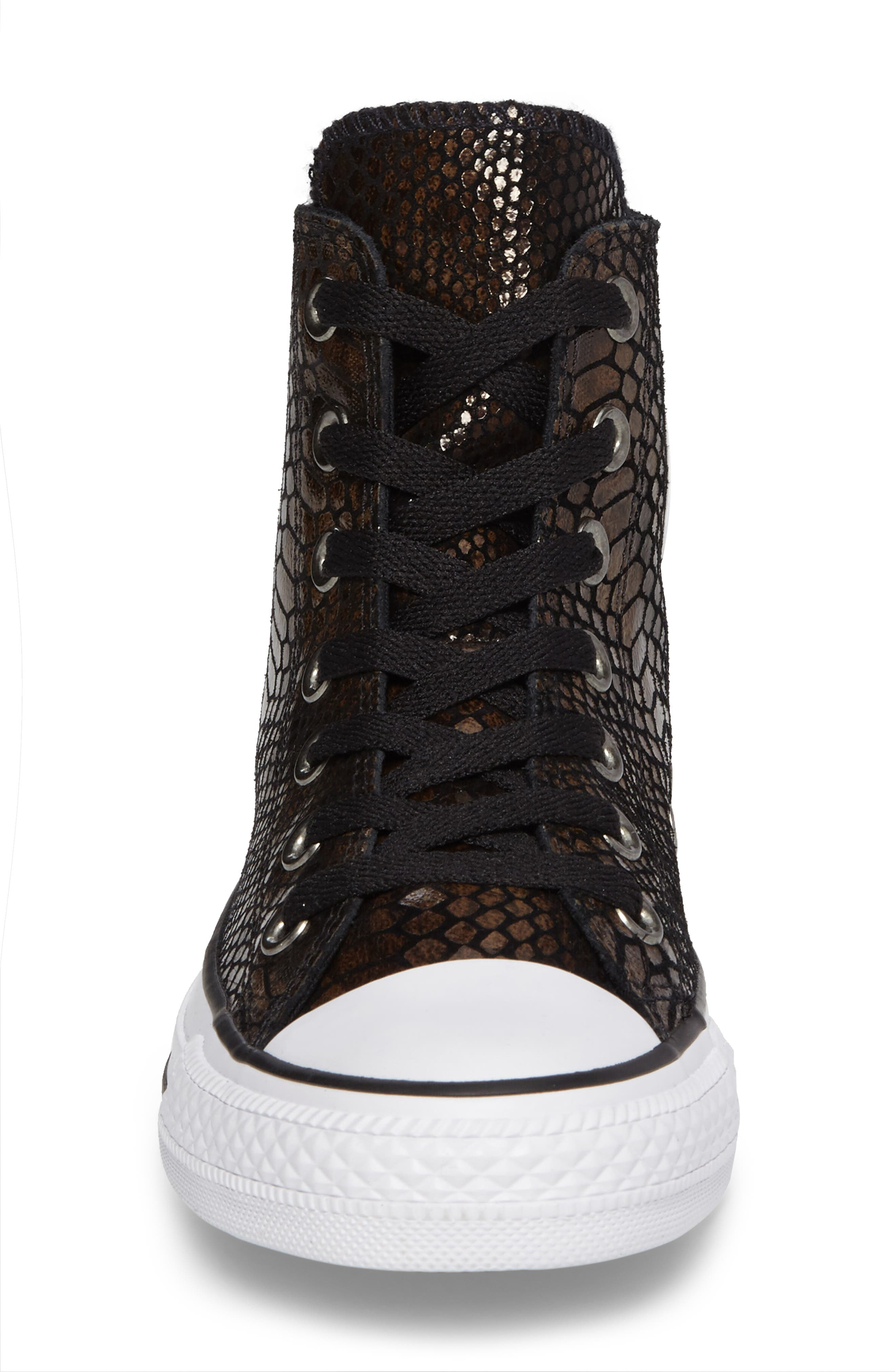 Chuck Taylor<sup>®</sup> All Star<sup>®</sup> Snake Embossed High Top Sneaker,                             Alternate thumbnail 4, color,                             200