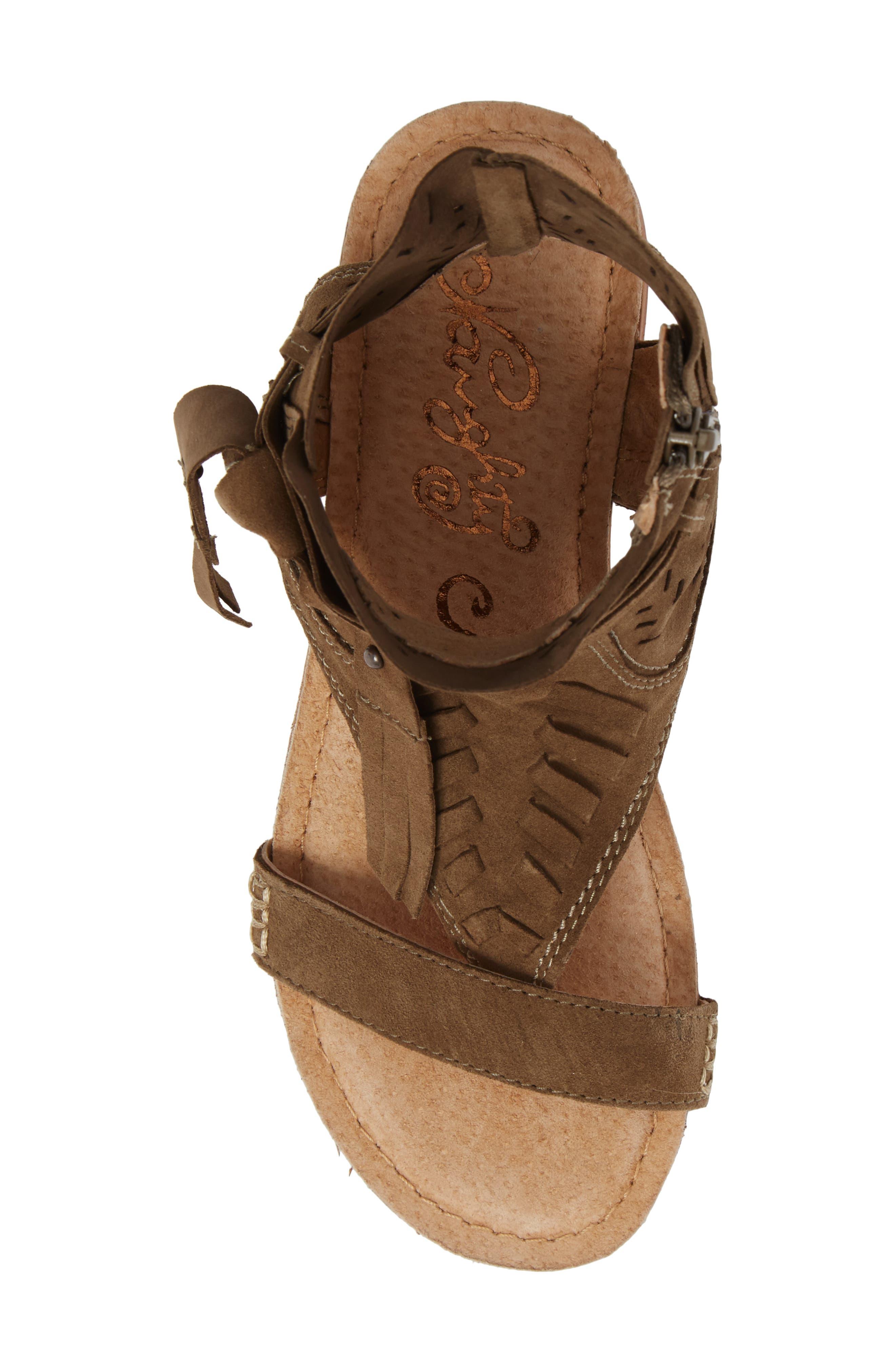 Cochise Flat Sandal,                             Alternate thumbnail 21, color,