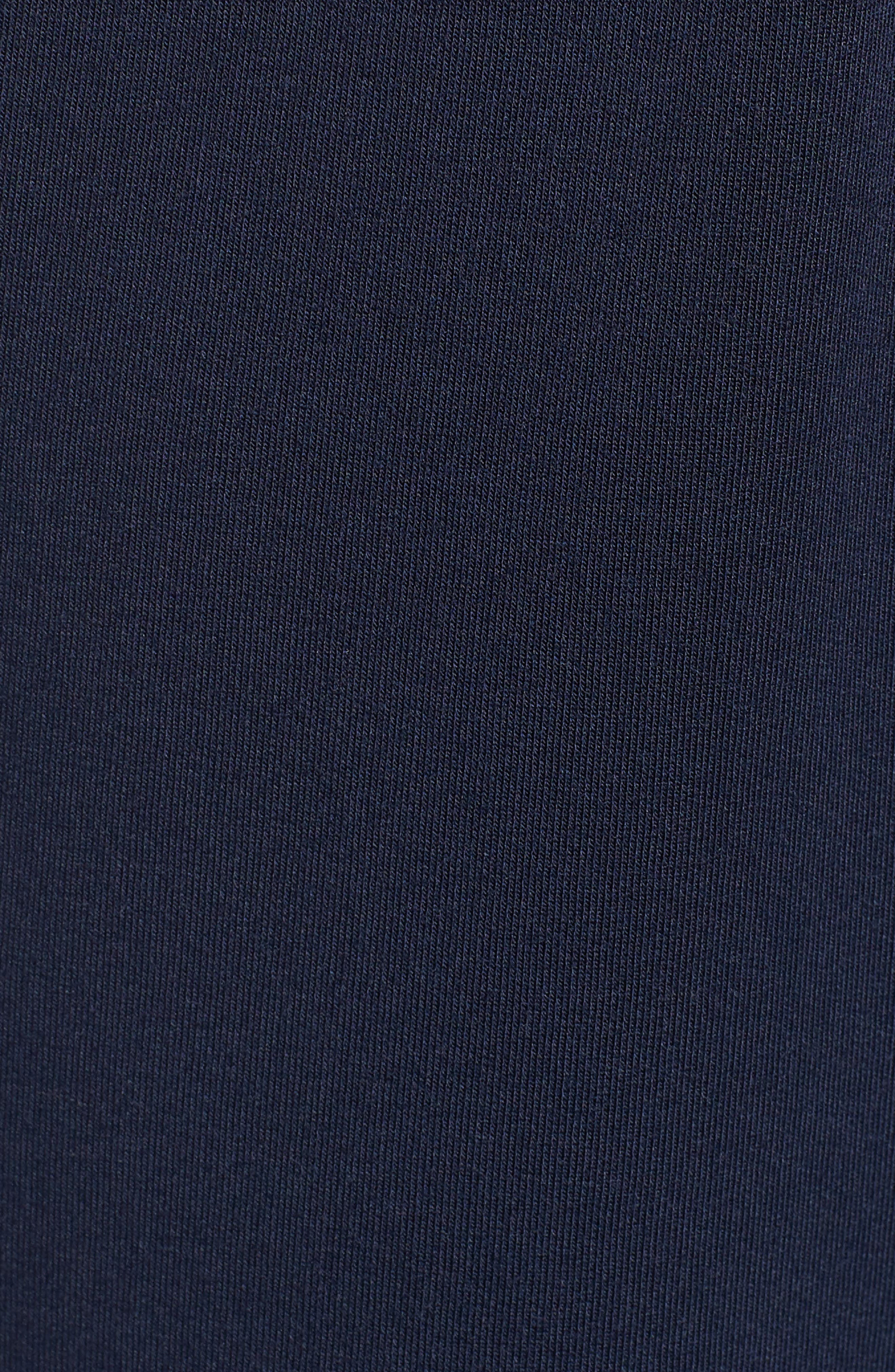 Modal Blend Lounge Shorts,                             Alternate thumbnail 5, color,                             NAVY