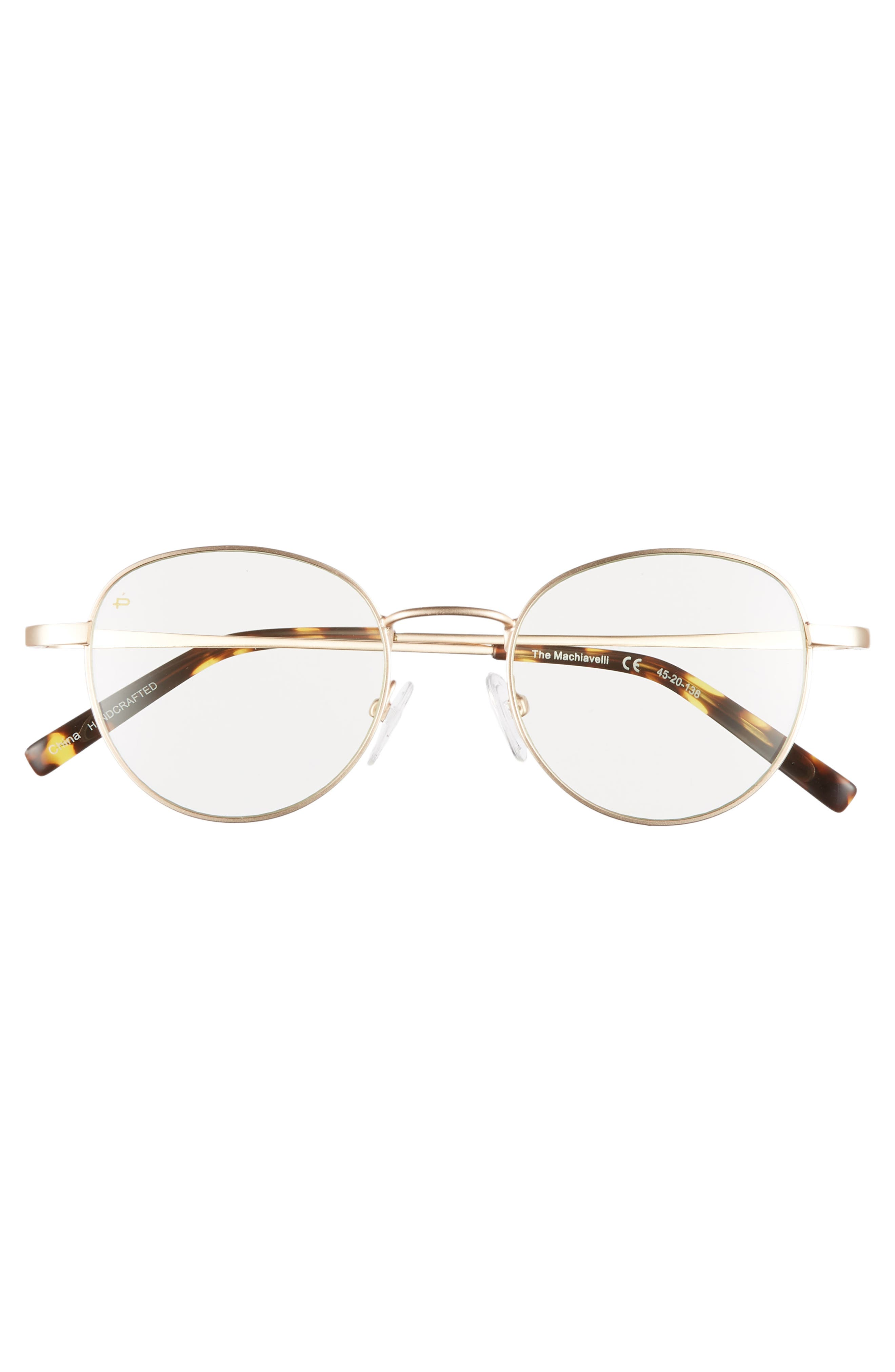 Privé Revaux The Machiavelli 45mm Blue Light Blocking Glasses,                             Alternate thumbnail 6, color,
