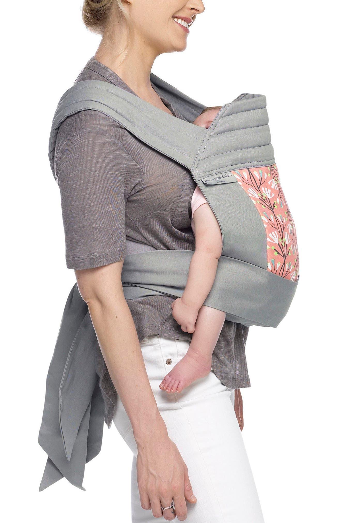 Wrap Double Tie Baby Carrier,                             Alternate thumbnail 6, color,