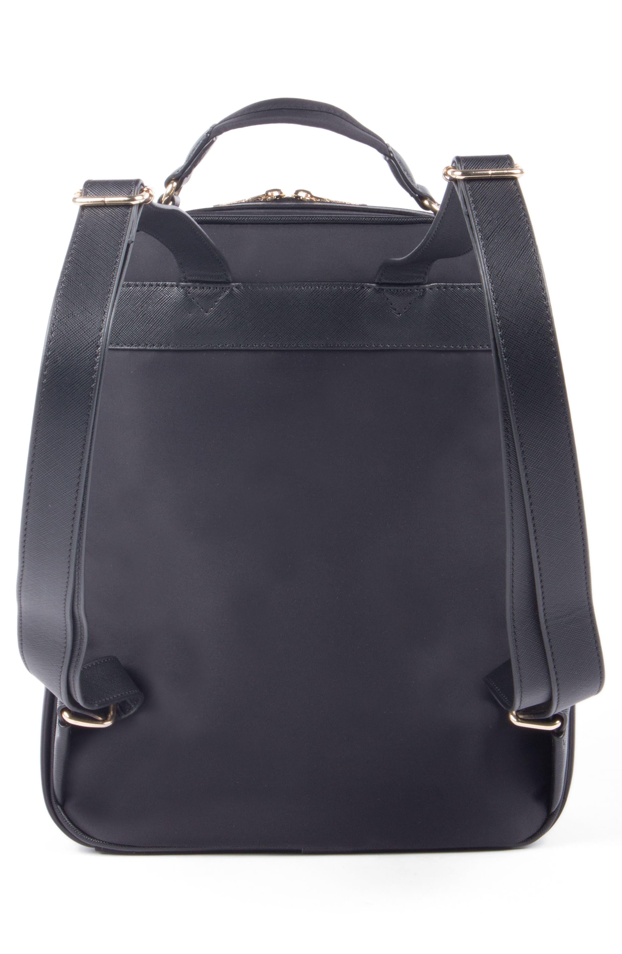 Céline Dion Presto Nylon Backpack,                             Alternate thumbnail 5, color,