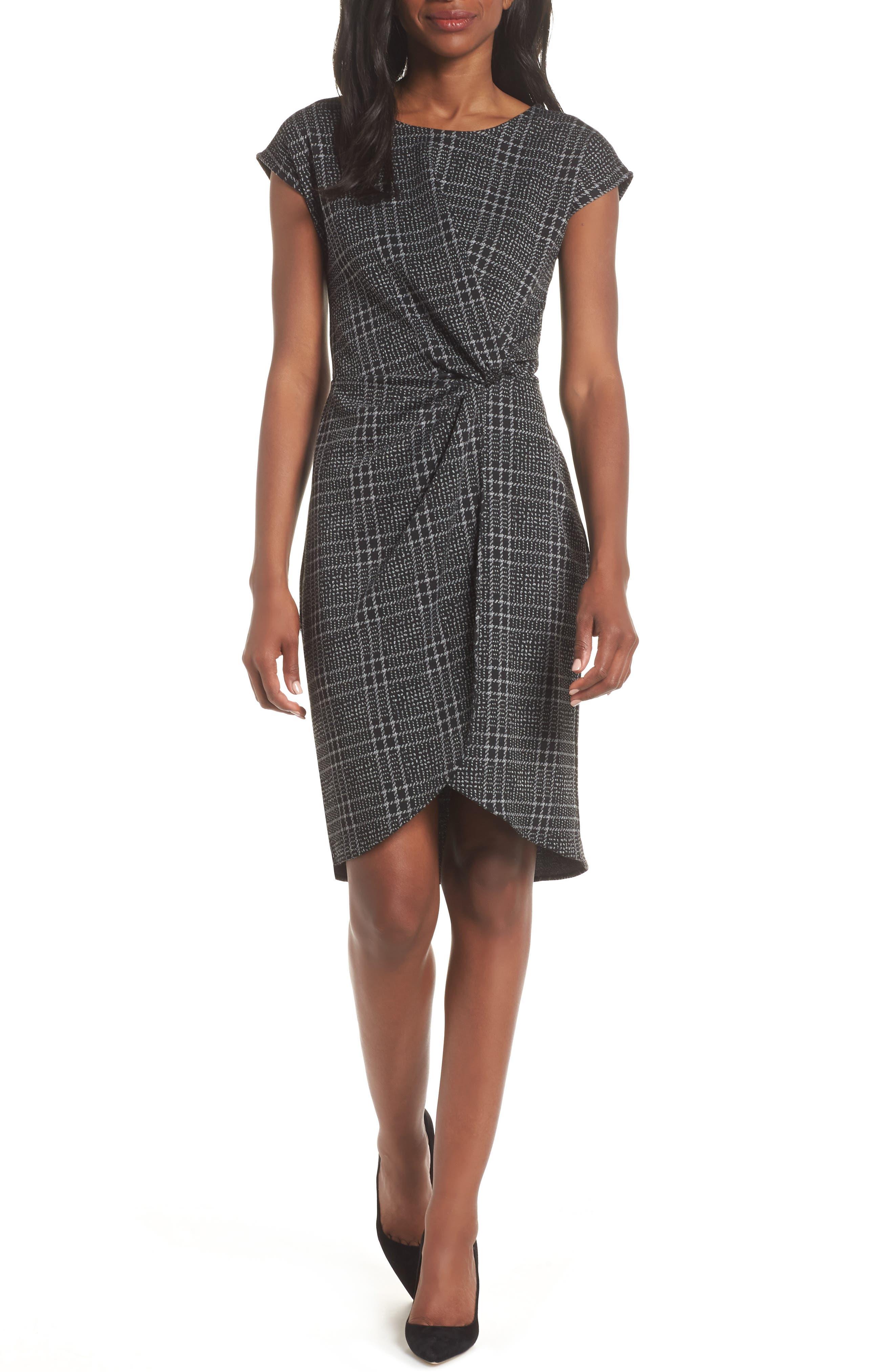 Mini Twist Dress,                             Main thumbnail 1, color,                             024