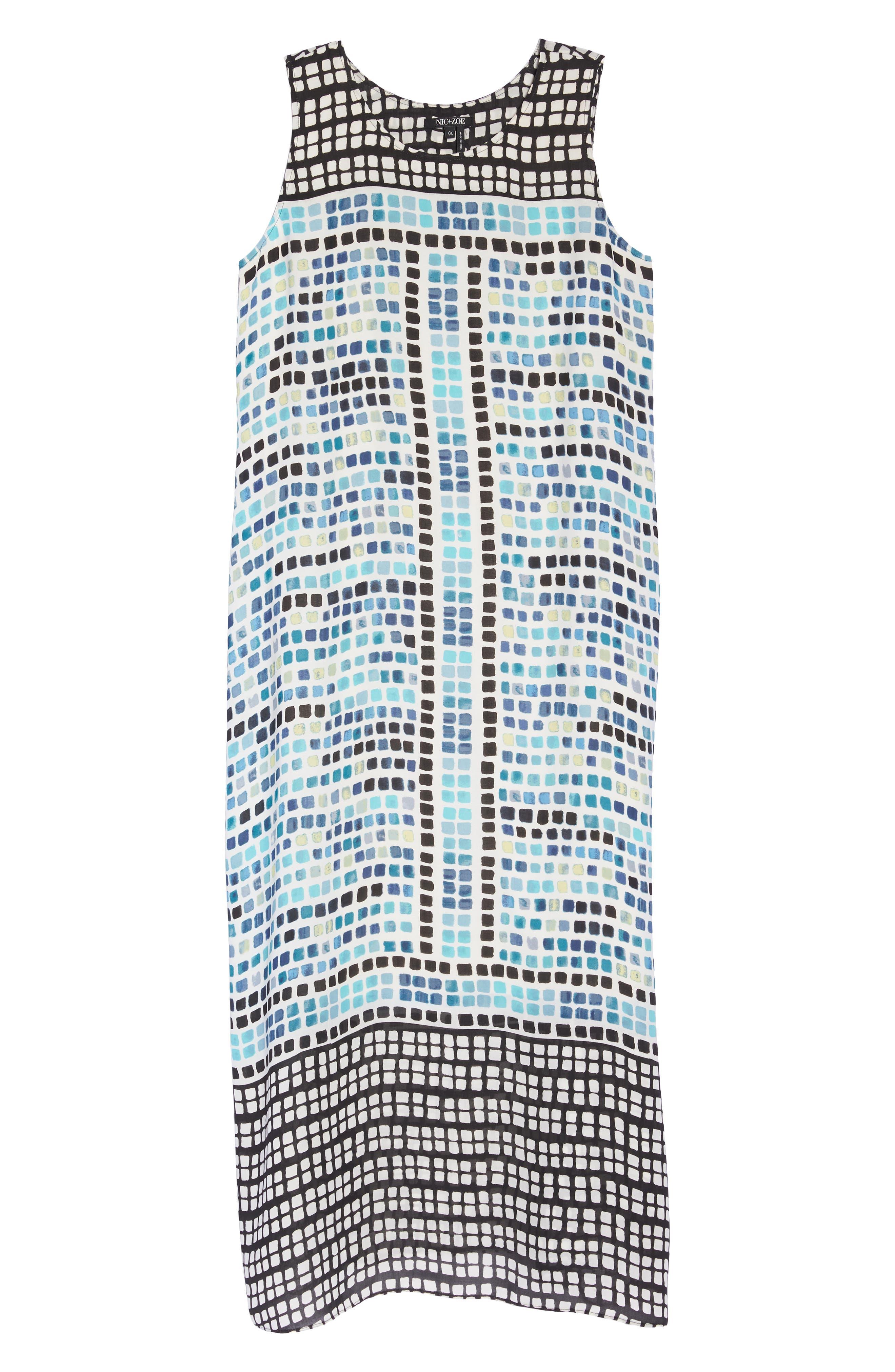 Color Wave Maxi Dress,                             Alternate thumbnail 6, color,                             490
