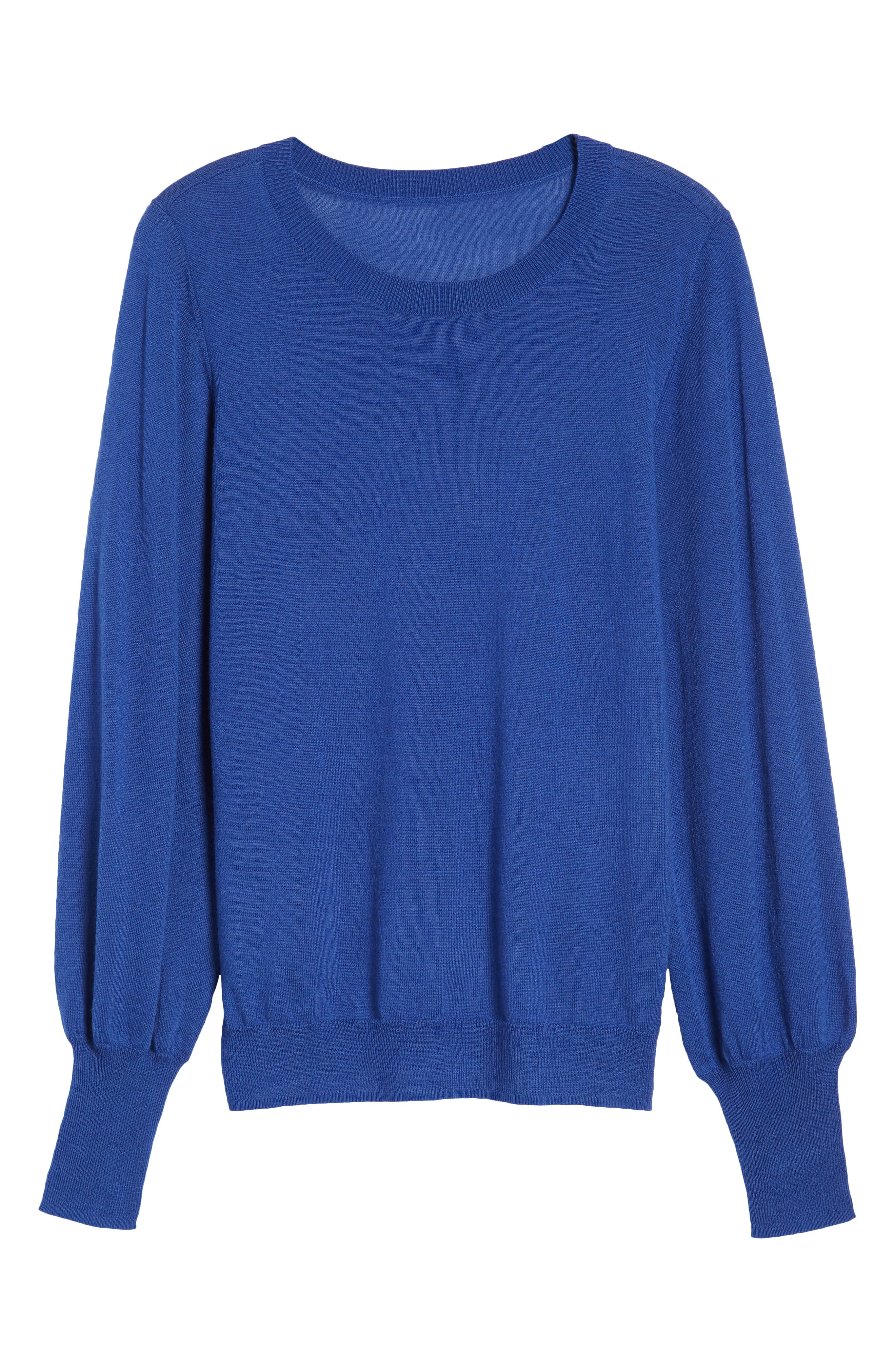Puff Sleeve Sweater,                             Alternate thumbnail 55, color,