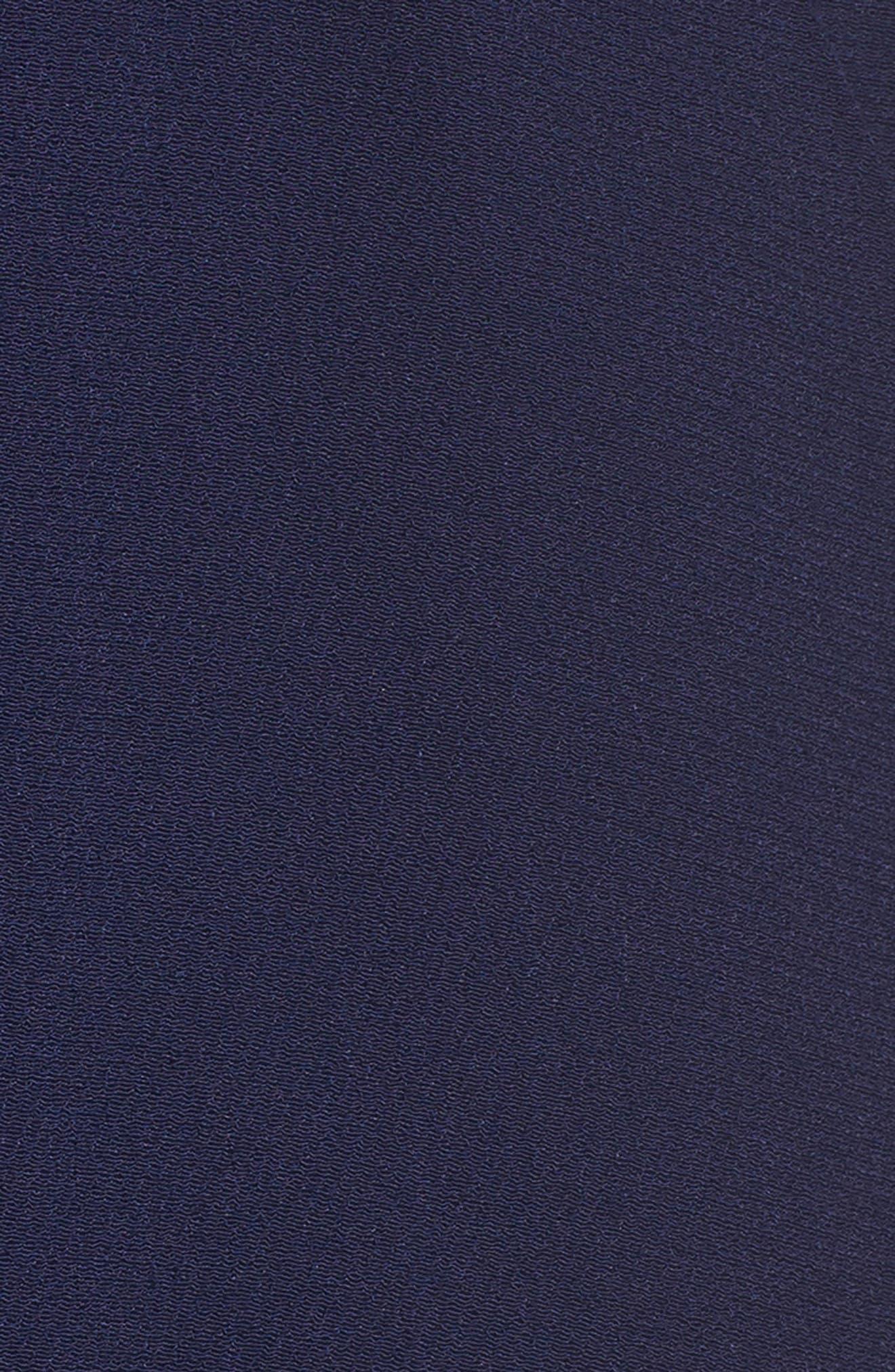 Drew Crepe Shirtdress,                             Alternate thumbnail 5, color,                             410