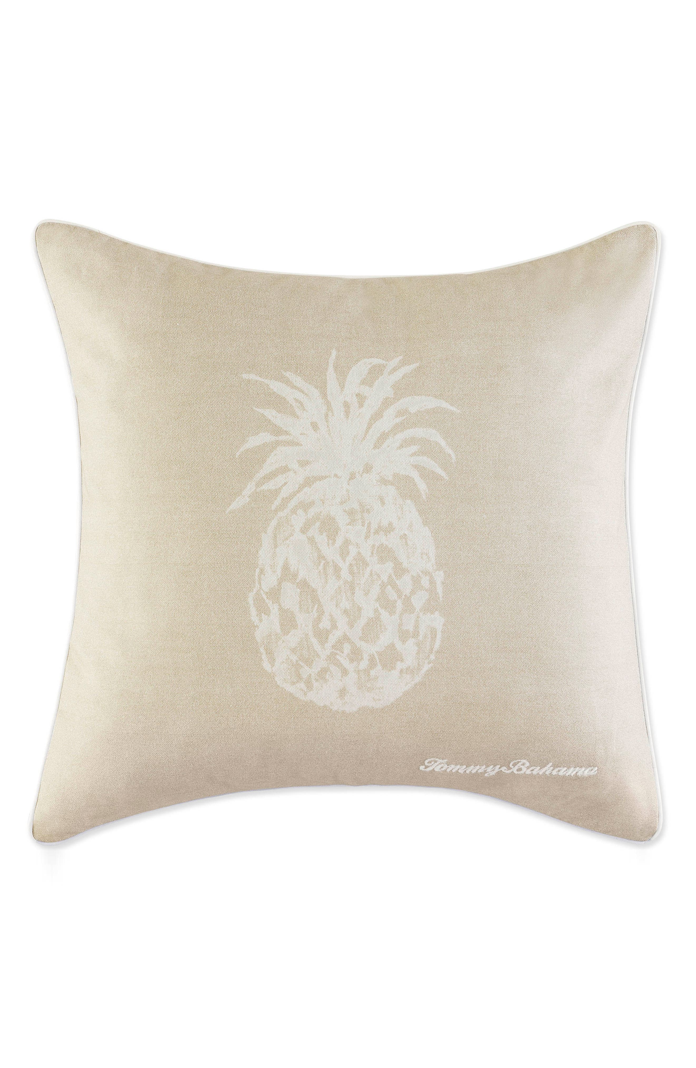 Pineapple Accent Pillow,                         Main,                         color, SAND