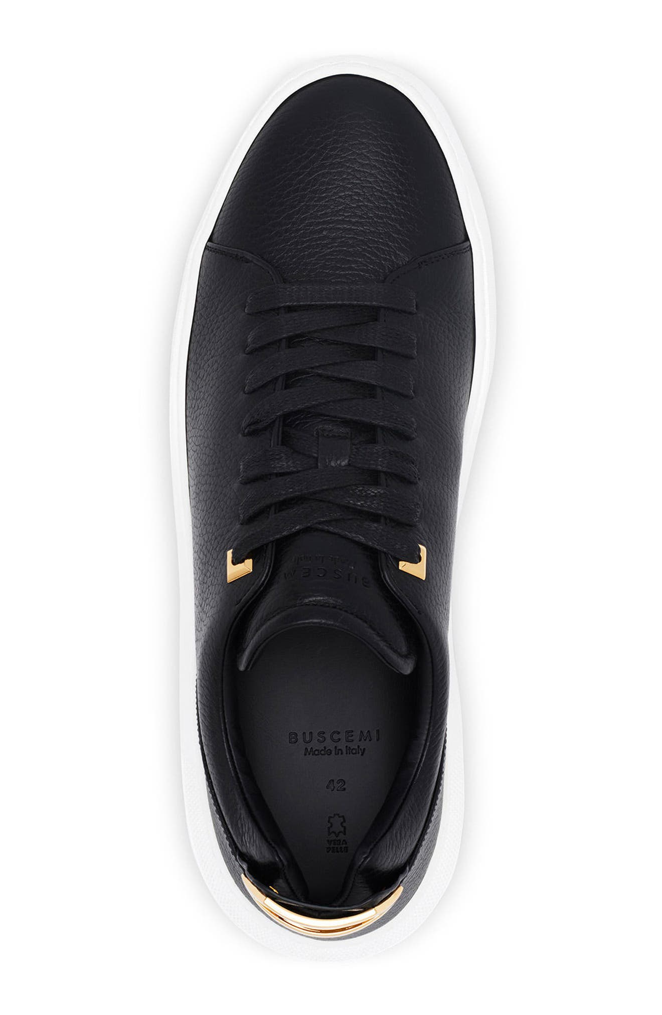 Uno Low Top Sneaker,                             Alternate thumbnail 5, color,                             001