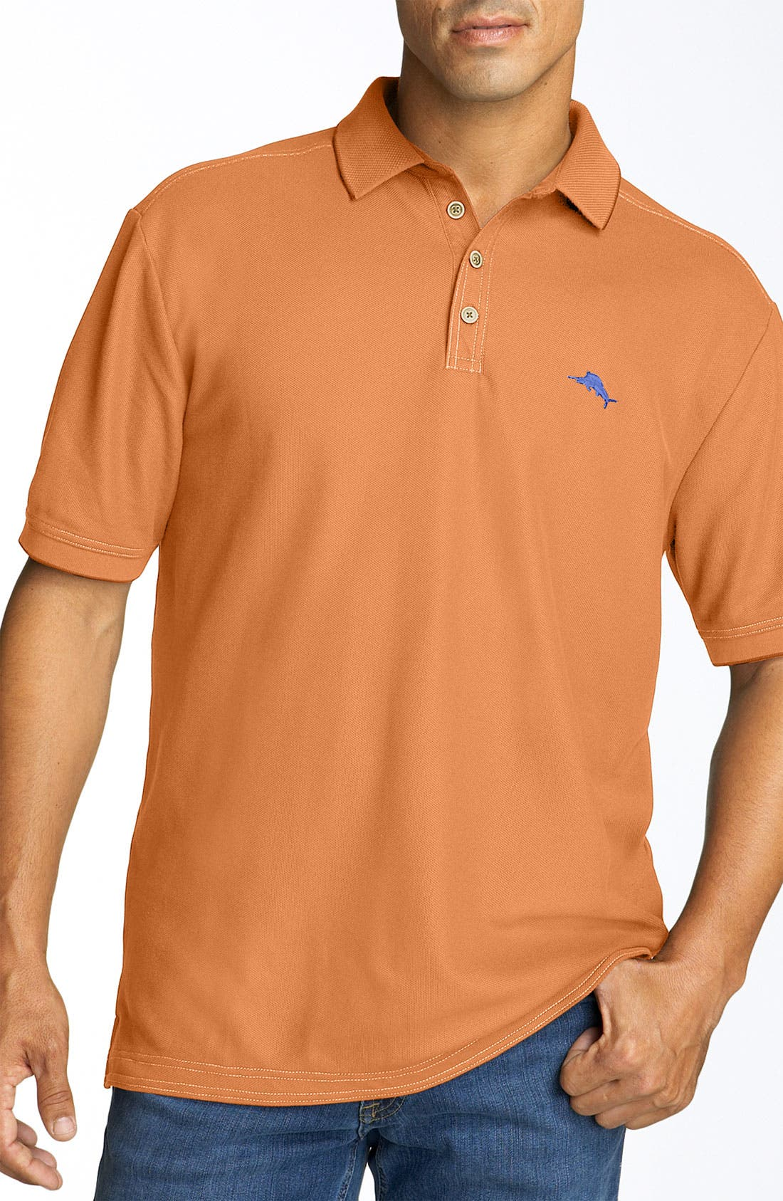 'The Emfielder' Original Fit Piqué Polo,                             Main thumbnail 115, color,