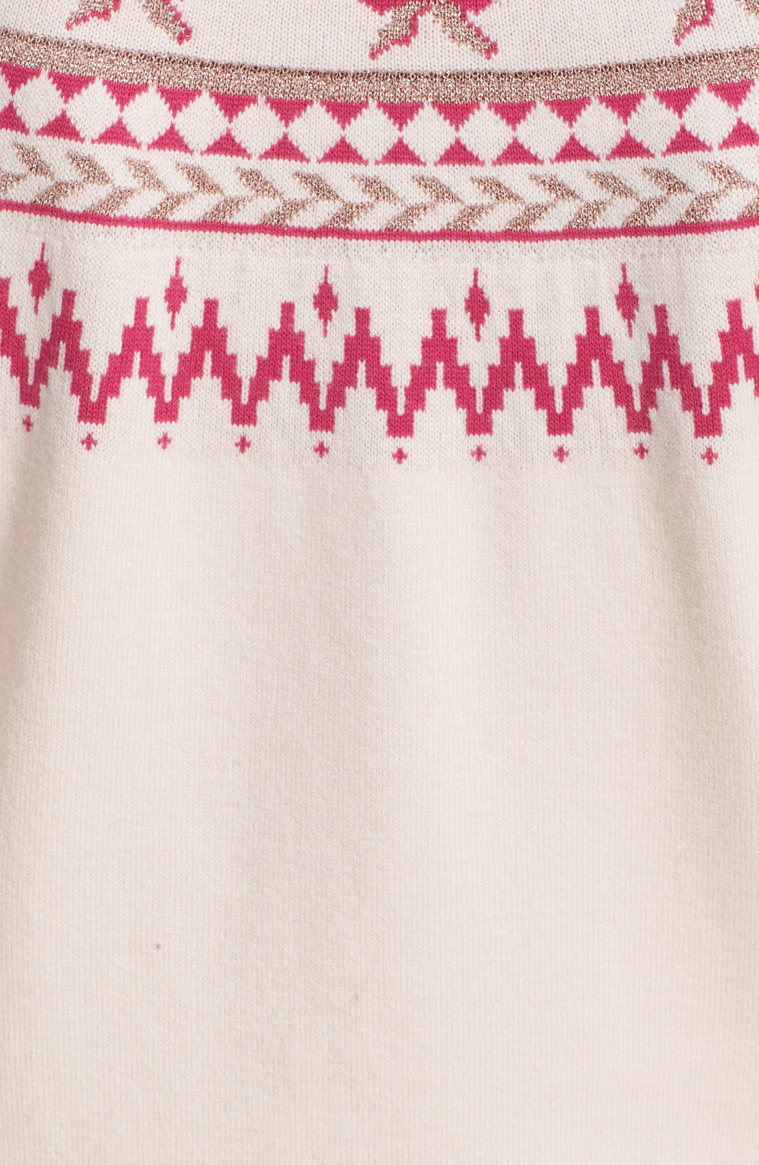 TED BAKER LONDON,                             Merry Woofmas Fair Isle Pullover,                             Alternate thumbnail 5, color,                             272