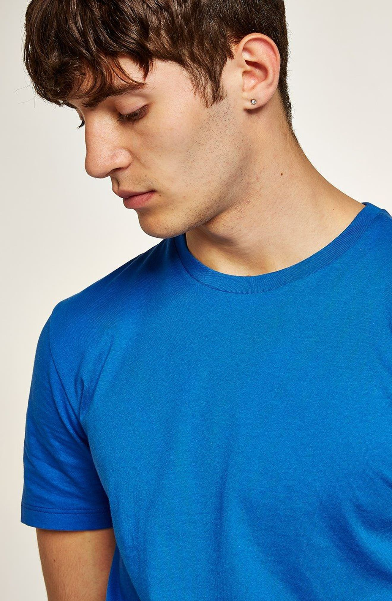 Slim Fit Crewneck T-Shirt,                             Alternate thumbnail 296, color,