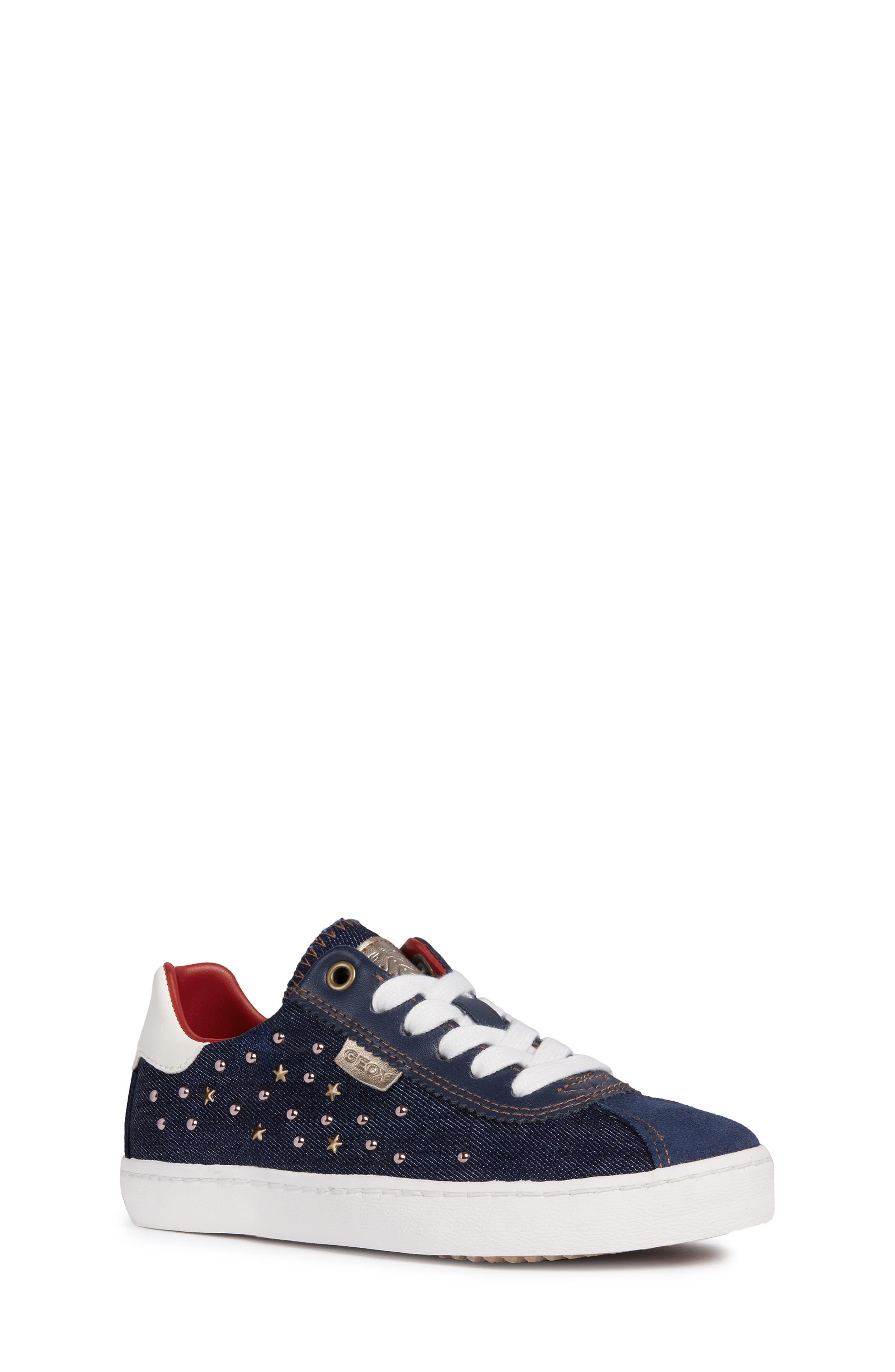 Kilwi Zip Low Top Sneaker, Main, color, NAVY