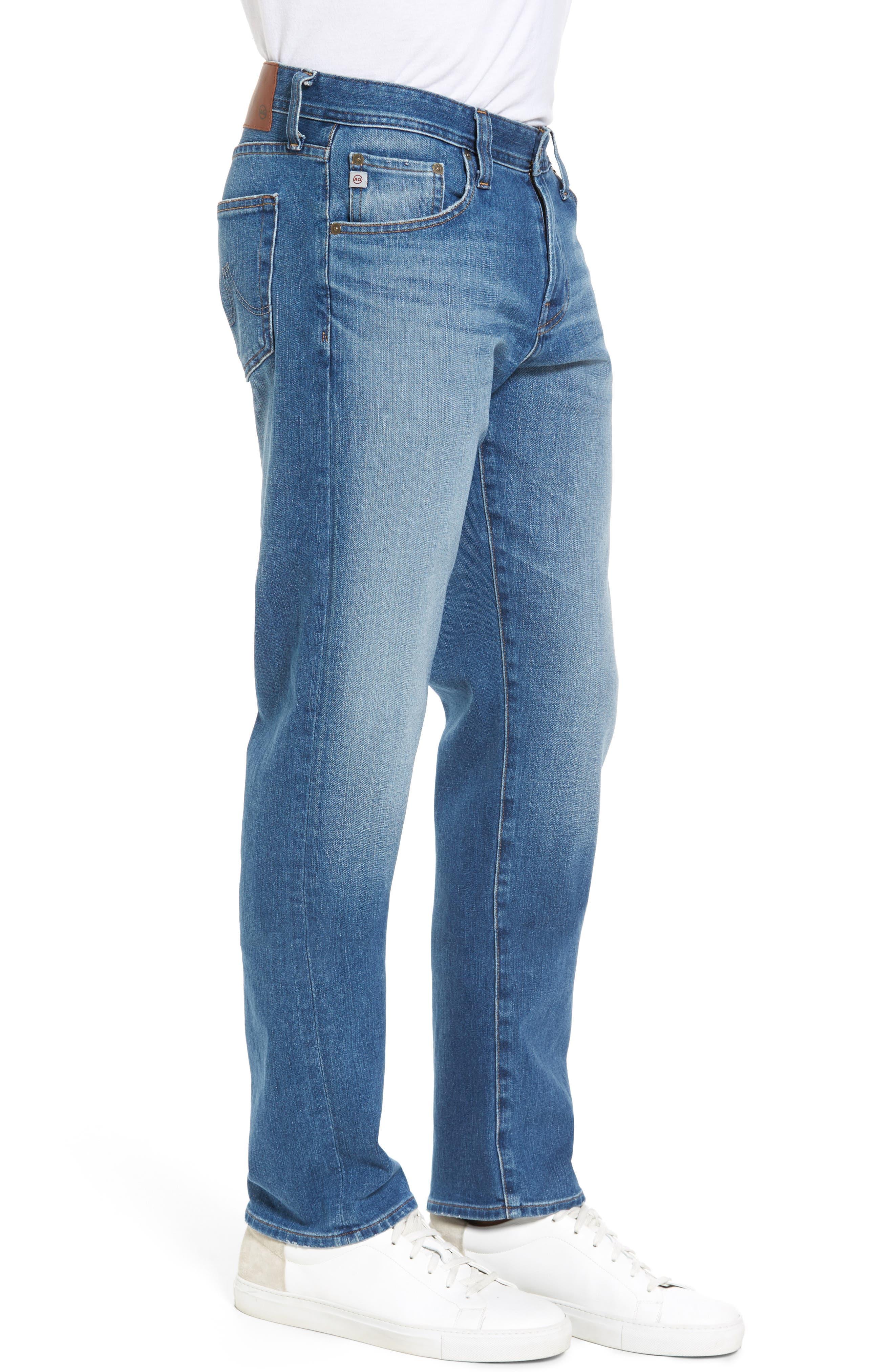 Graduate Slim Straight Fit Jeans,                             Alternate thumbnail 3, color,                             456