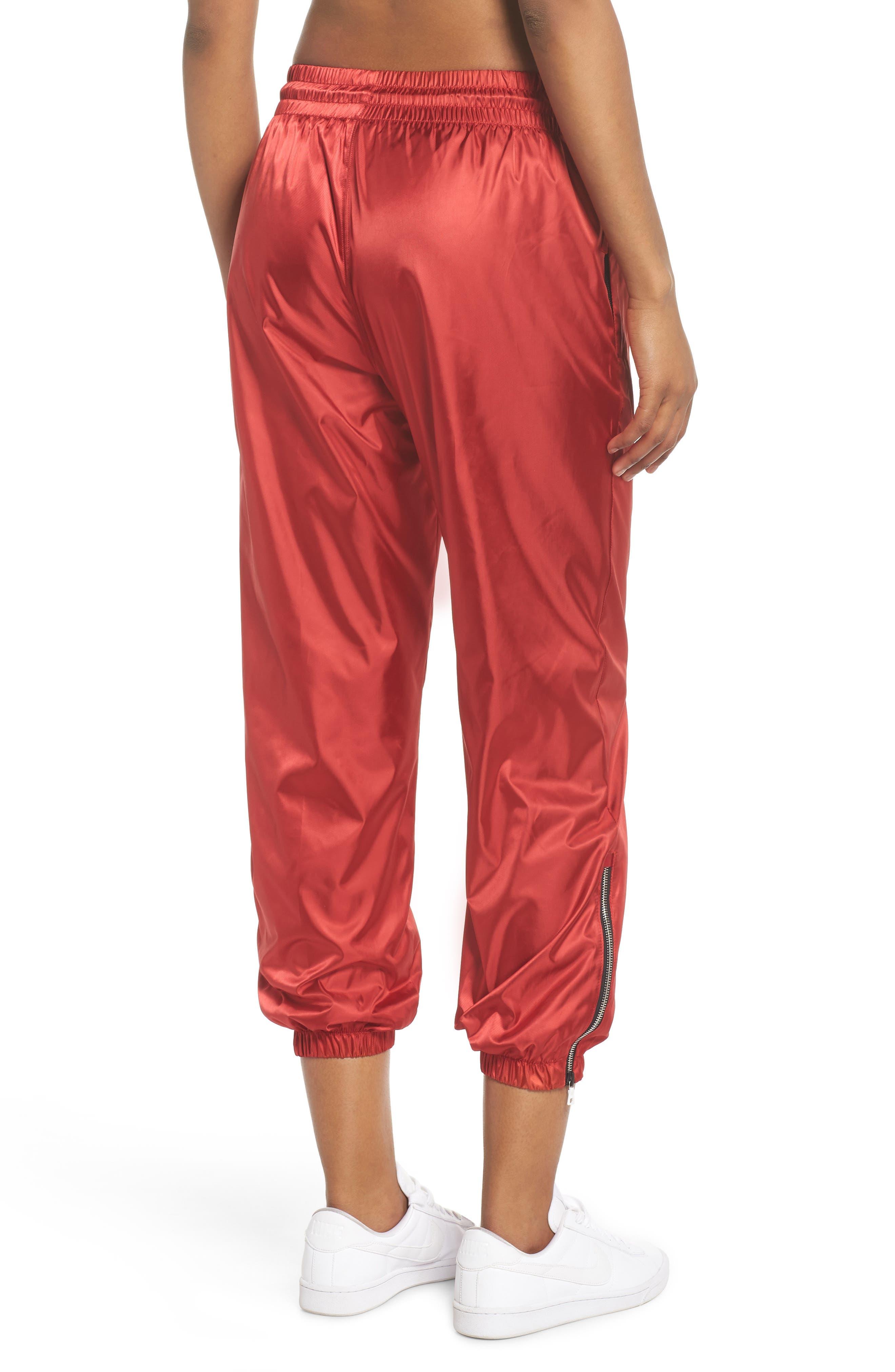 NikeLab Collection Women's Satin Track Pants,                             Alternate thumbnail 2, color,                             600