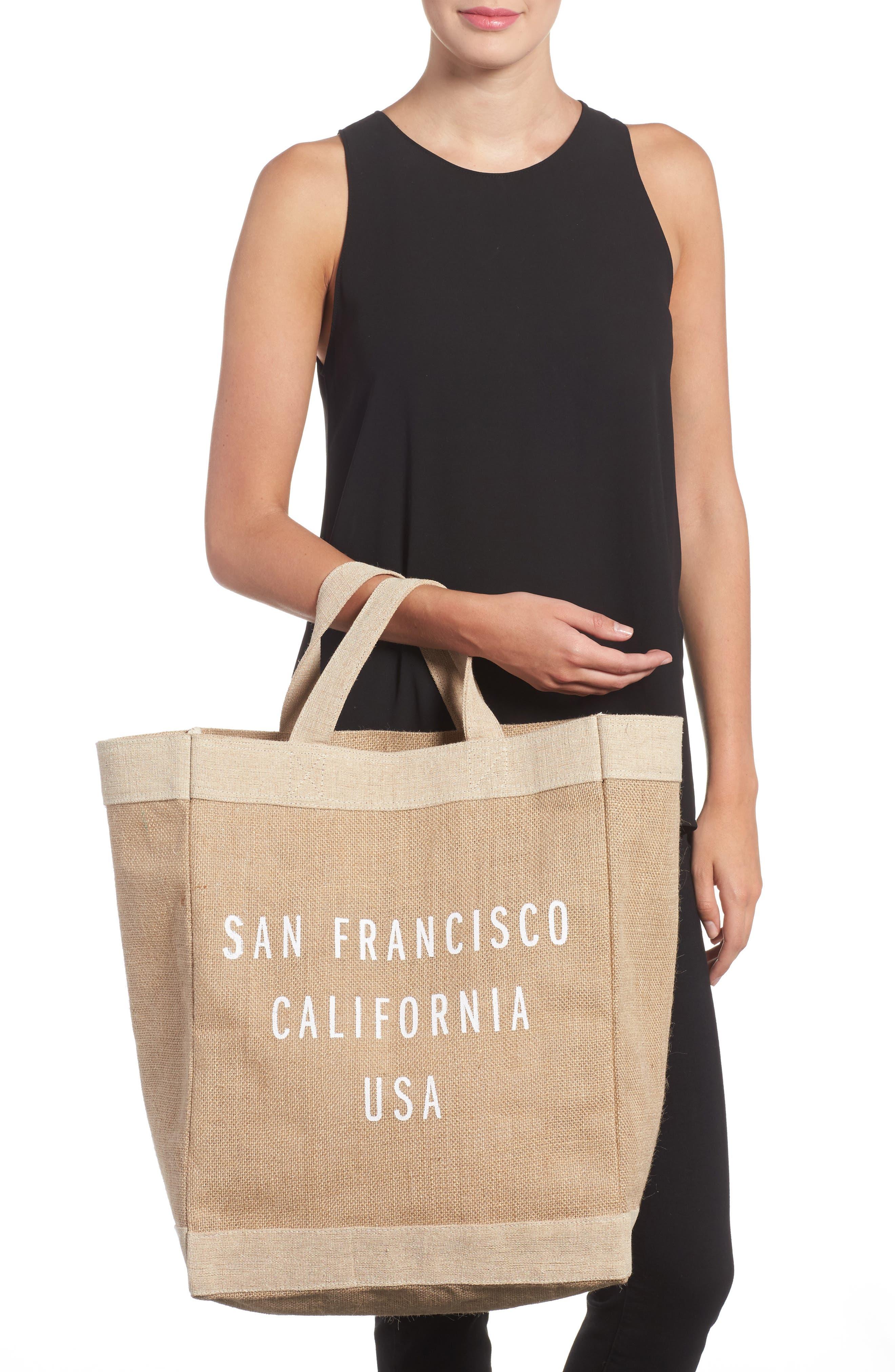 San Francisco Simple Market Bag,                             Alternate thumbnail 2, color,                             200