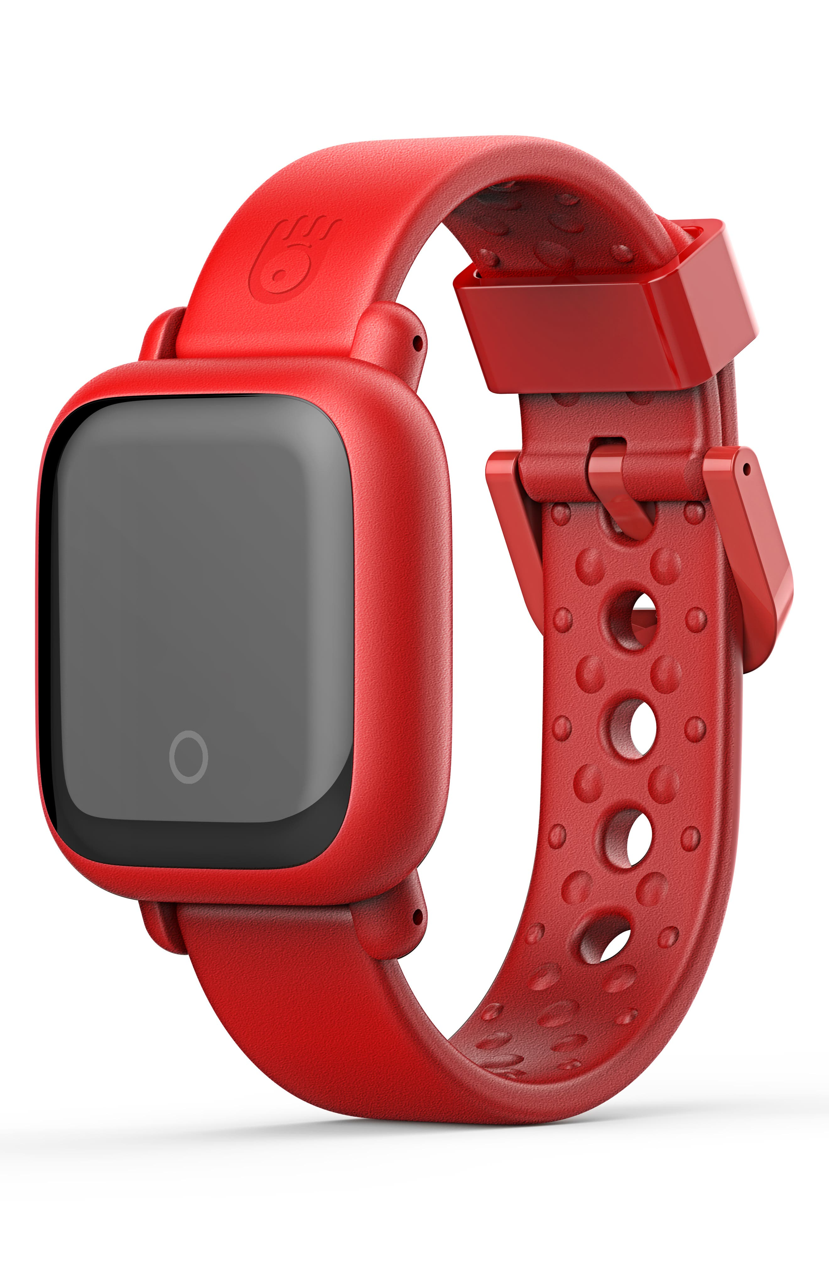 Motion Edition Smart Watch,                             Main thumbnail 1, color,                             RED