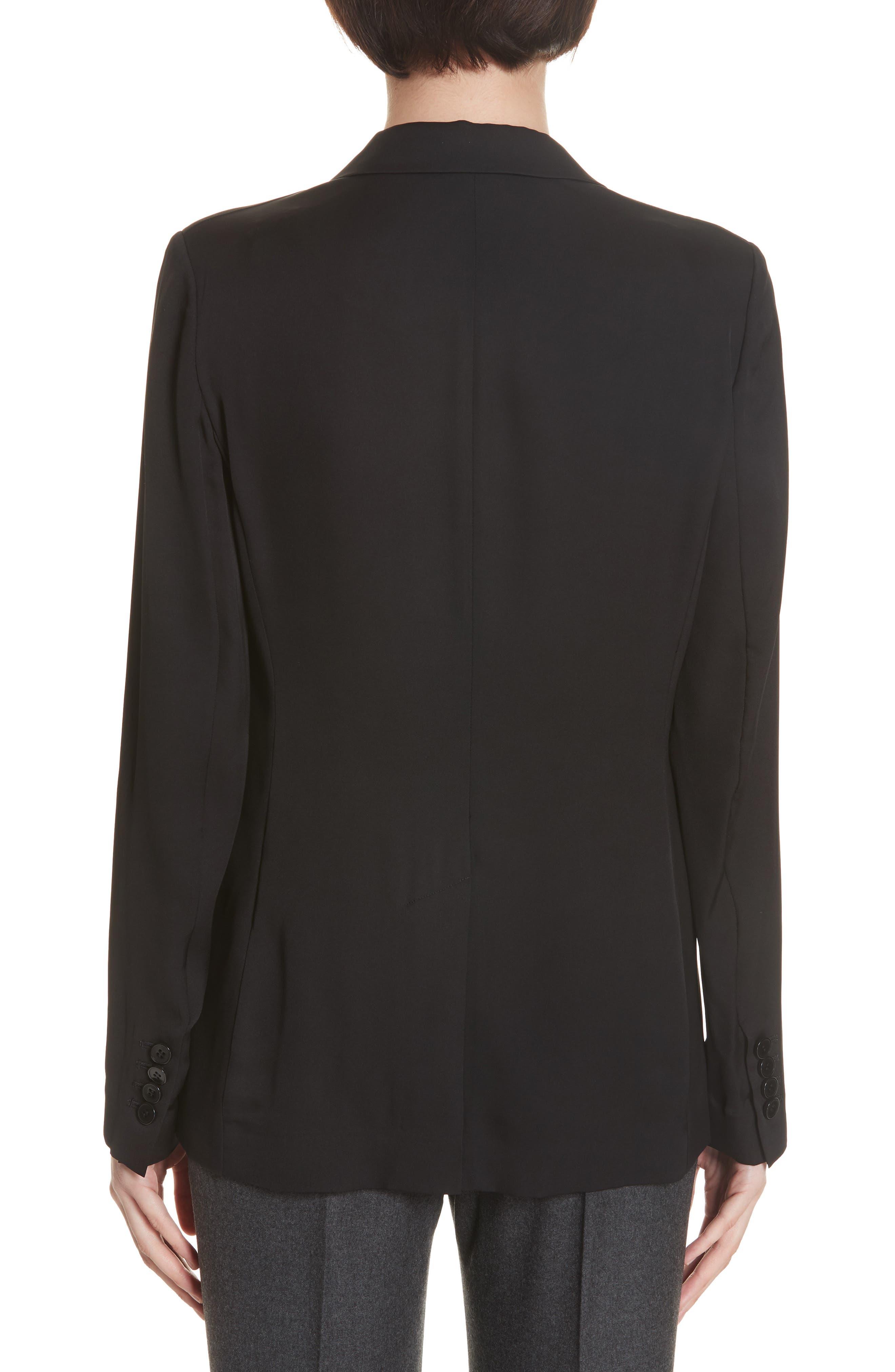 Grinson Silk Suit Jacket,                             Alternate thumbnail 2, color,                             001