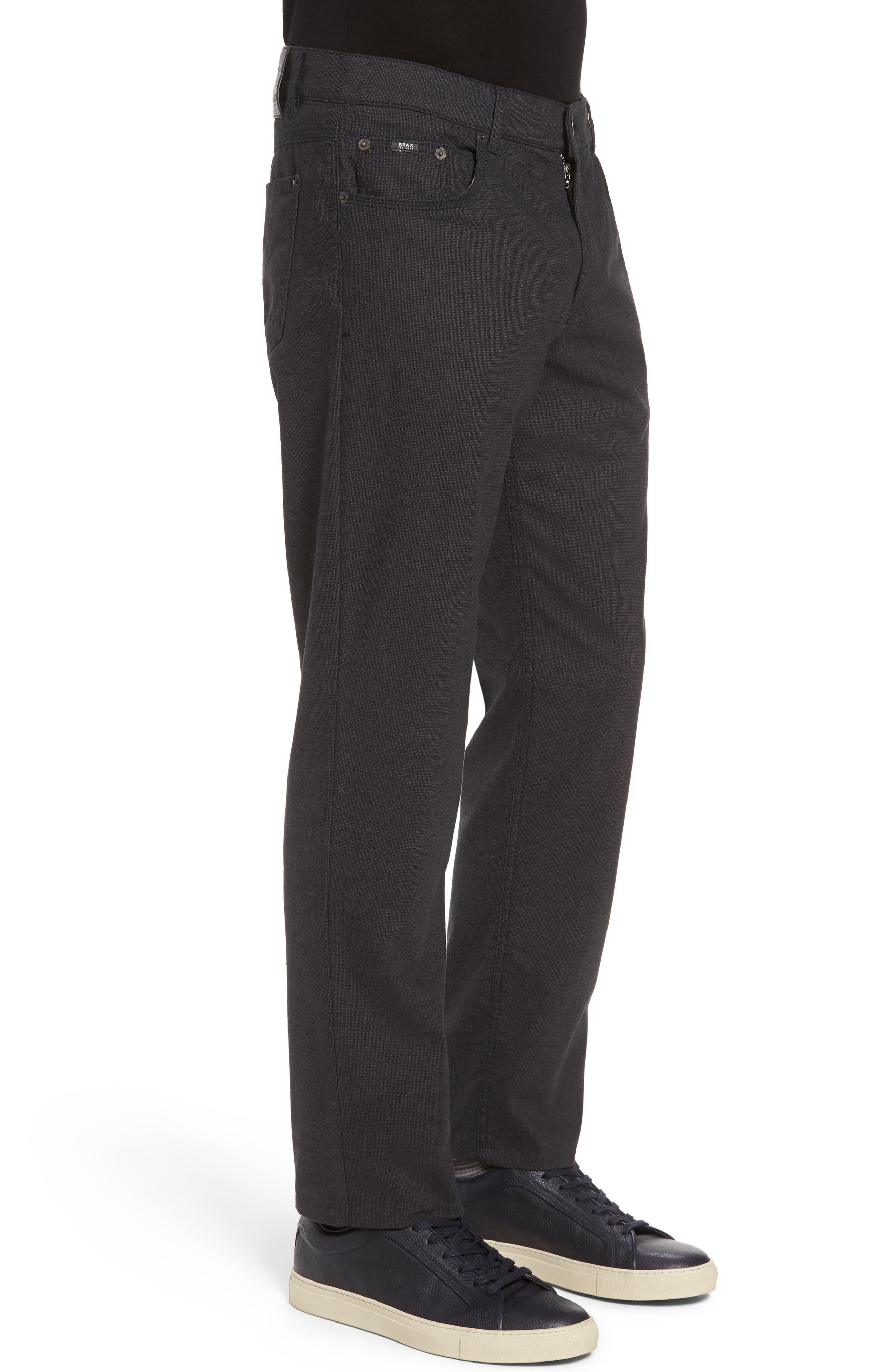 Five-Pocket Stretch Cotton Trousers,                             Alternate thumbnail 11, color,