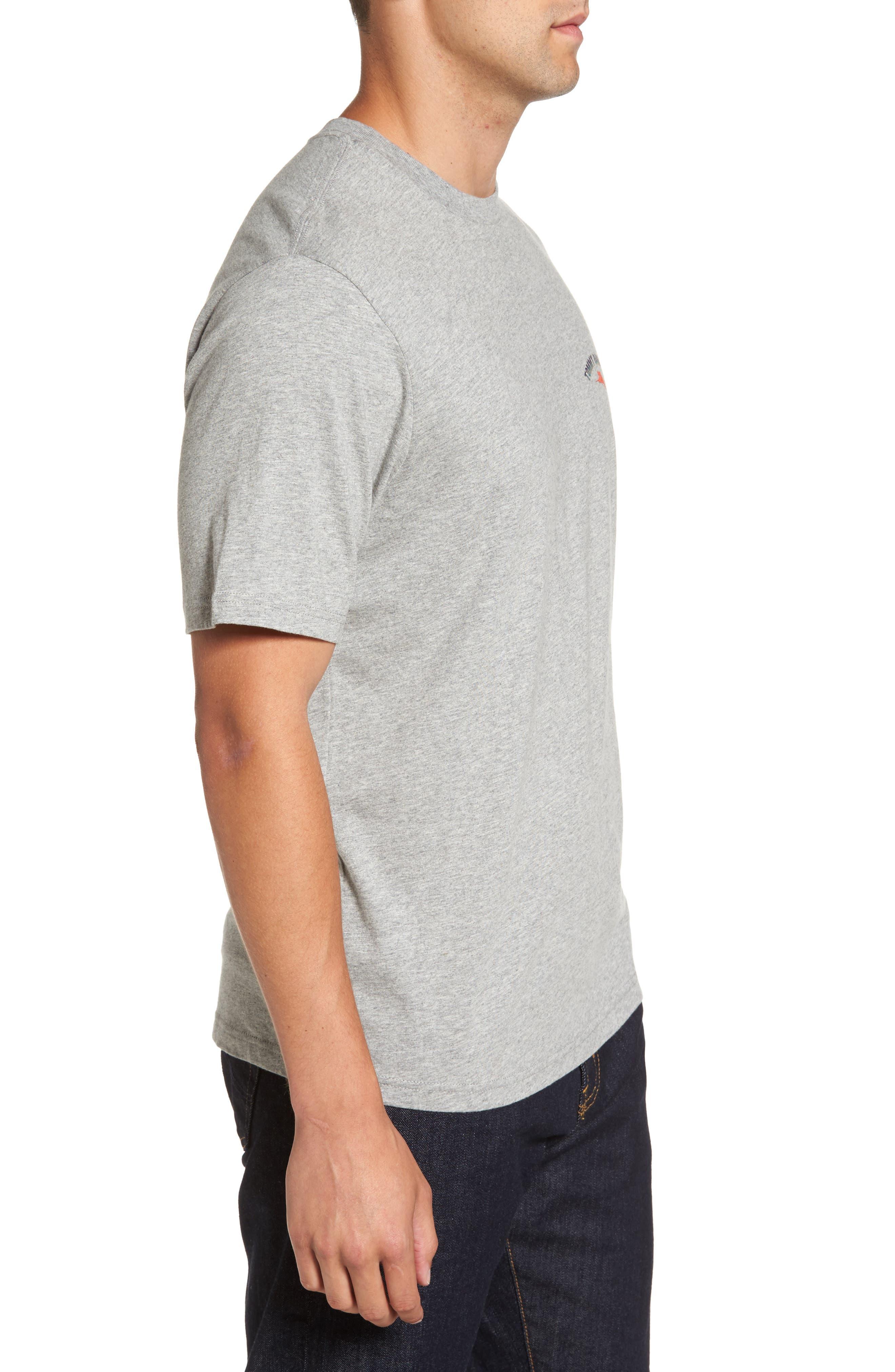Outside Limebacker Standard Fit T-Shirt,                             Alternate thumbnail 3, color,                             051