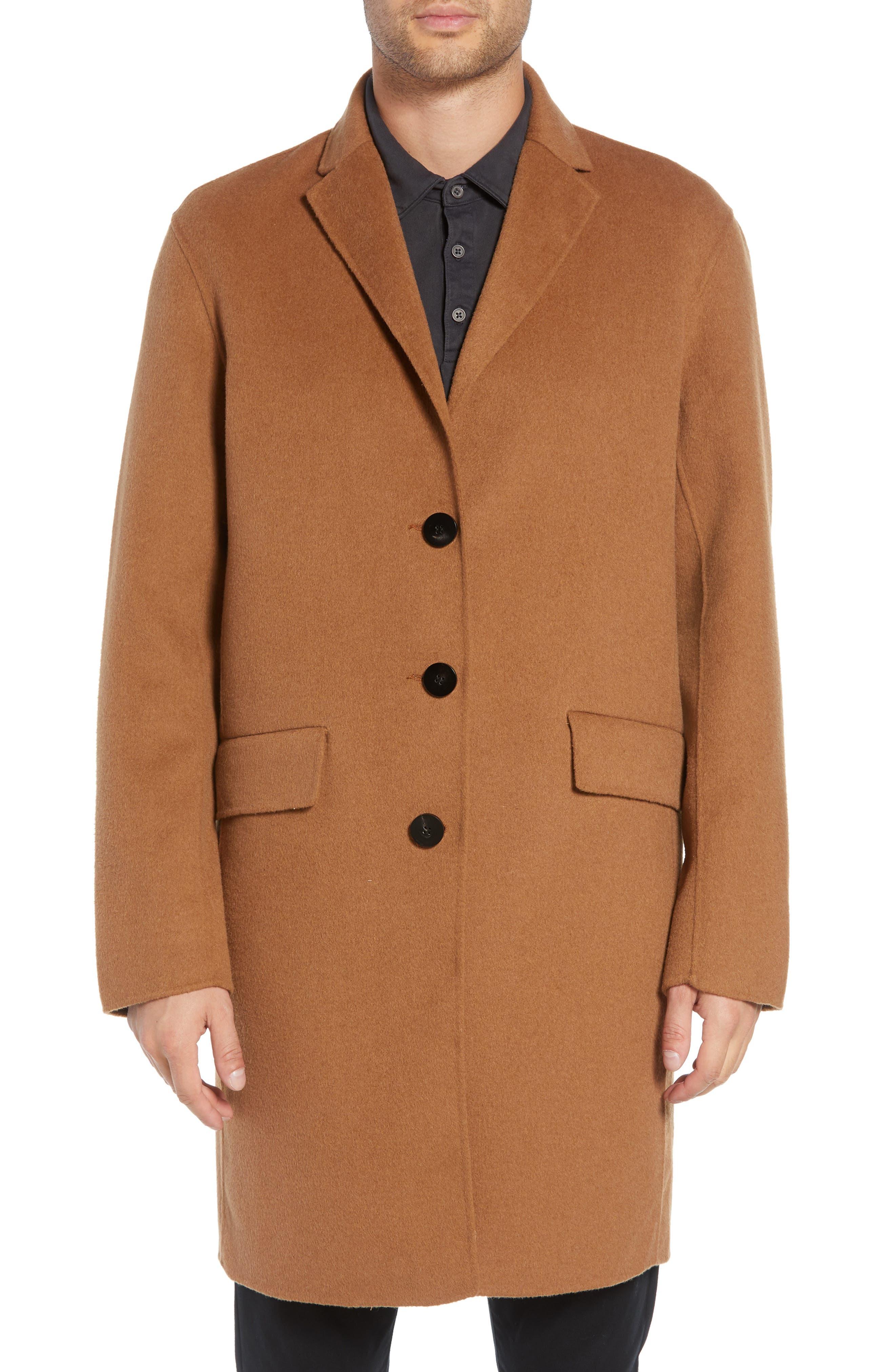 Wool Blend Topcoat,                             Alternate thumbnail 11, color,