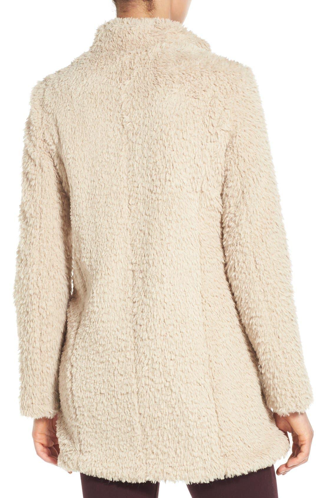 Faux Fur Jacket,                             Alternate thumbnail 24, color,