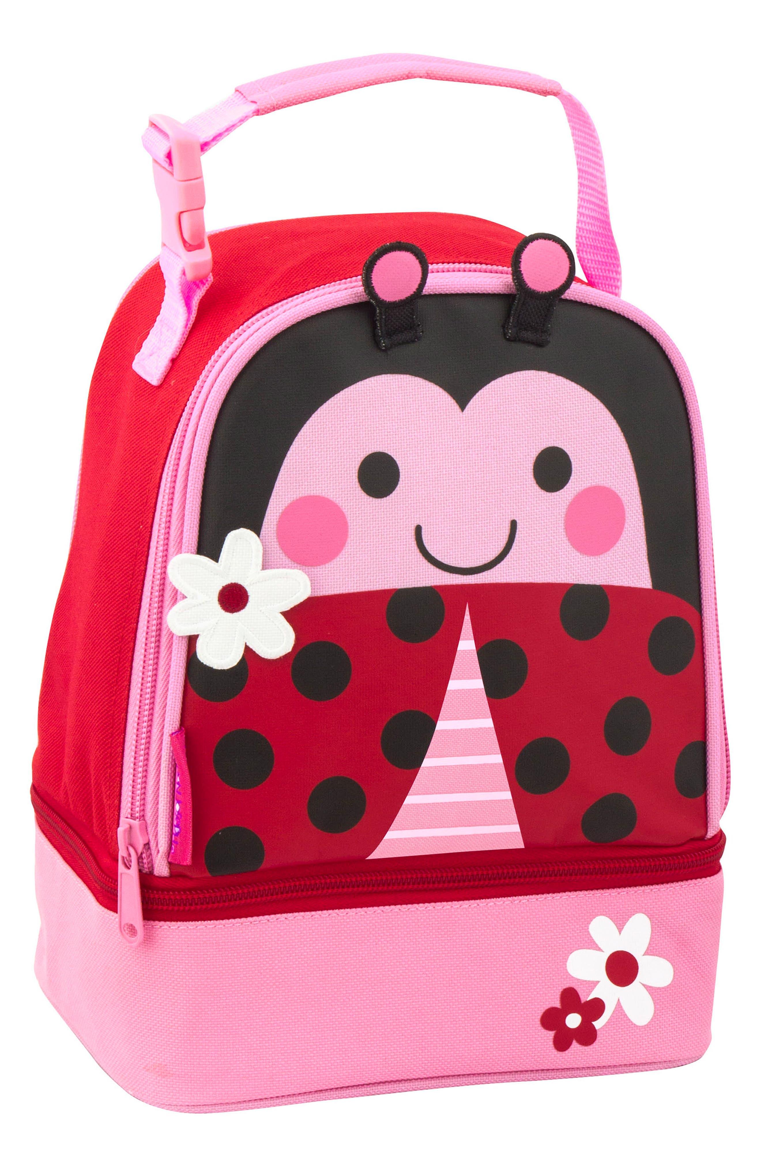 STEPHEN JOSEPH,                             Ladybug Sidekick Backpack & Lunch Pal,                             Alternate thumbnail 7, color,                             LADYBUG