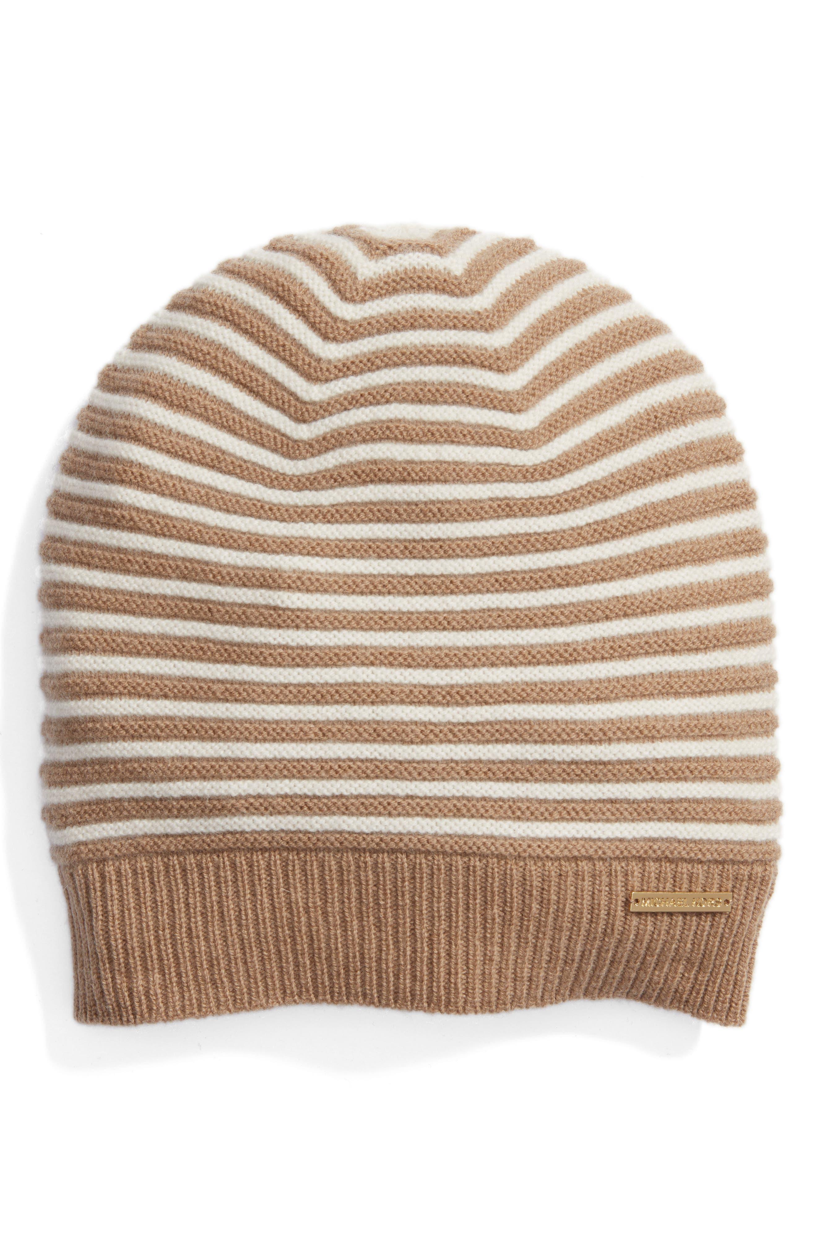 Double Links Wool & Cashmere Hat,                             Main thumbnail 3, color,