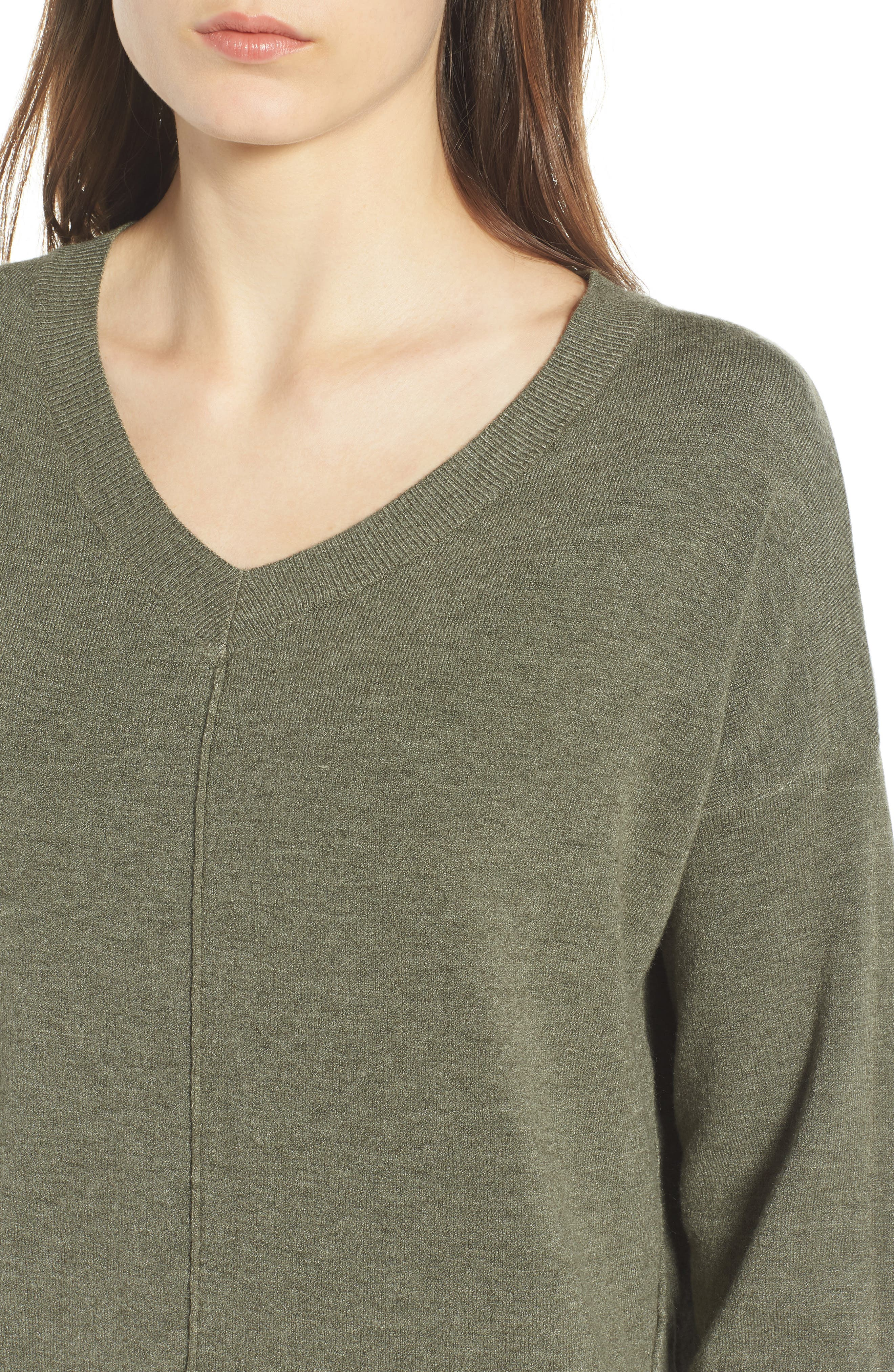 Exposed Seam Sweater,                             Alternate thumbnail 19, color,