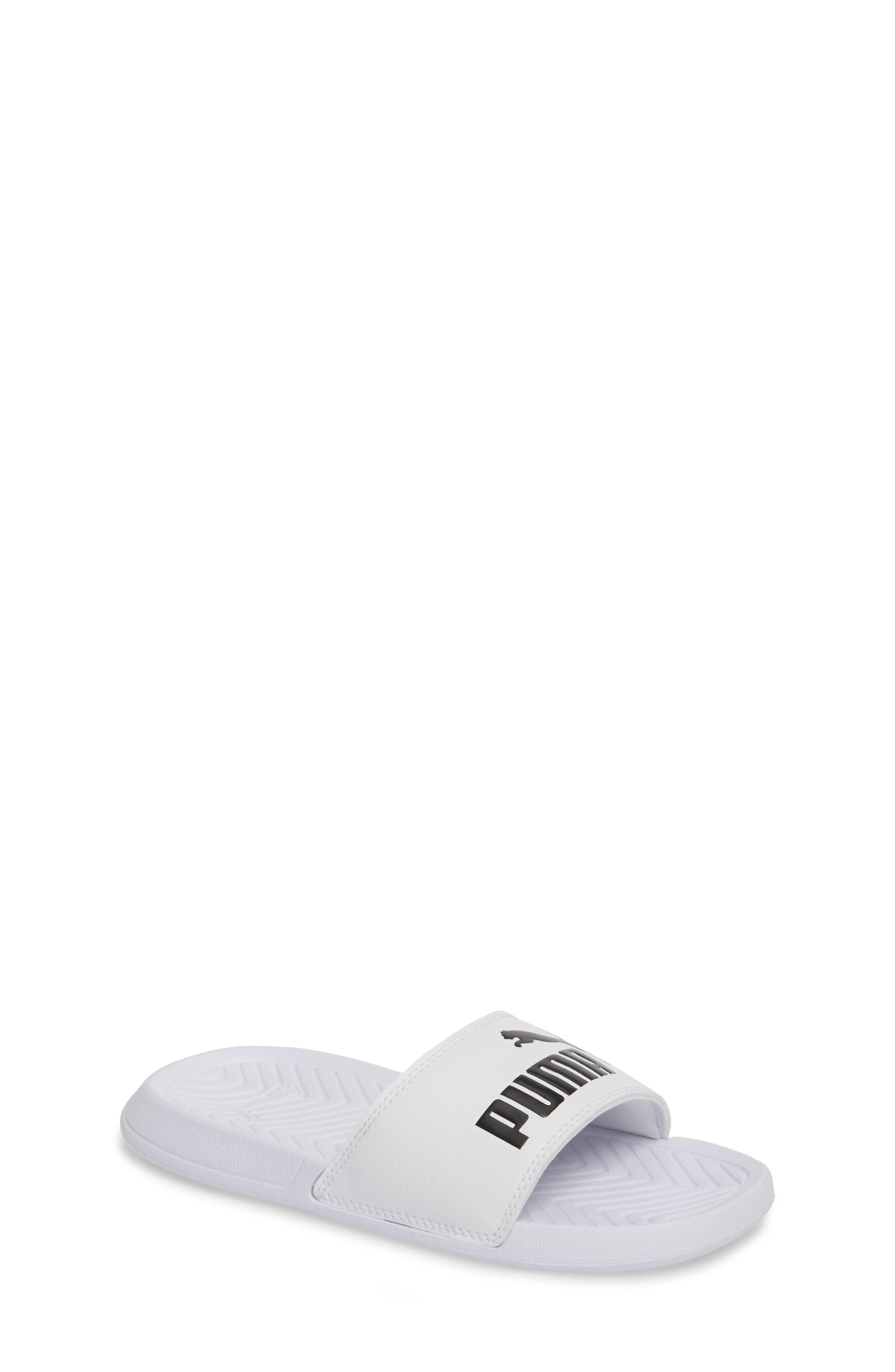 Popcat Slide Sandal,                         Main,                         color, 100