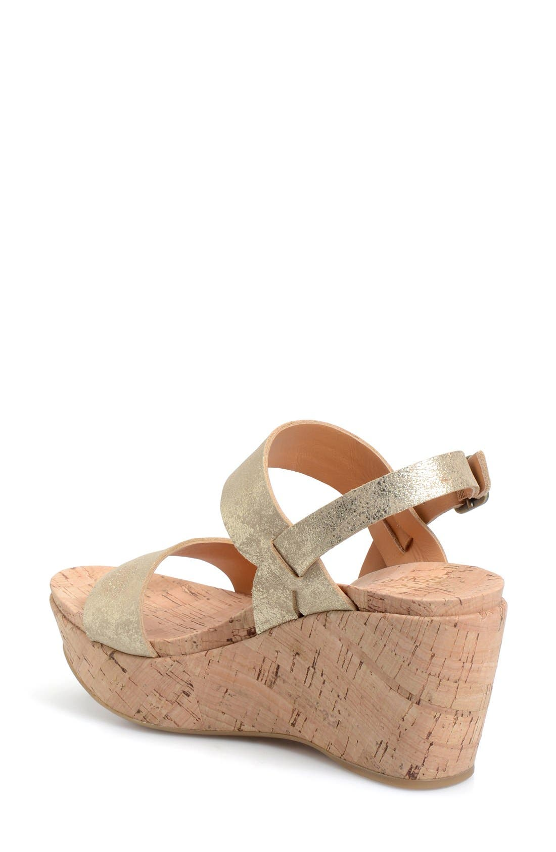 'Austin' Slingback Wedge Sandal,                             Alternate thumbnail 22, color,