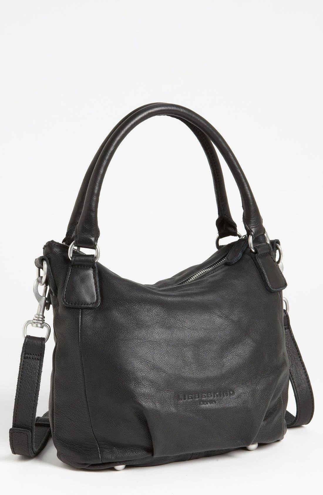 'Gina' Shoulder Bag,                             Main thumbnail 1, color,                             001
