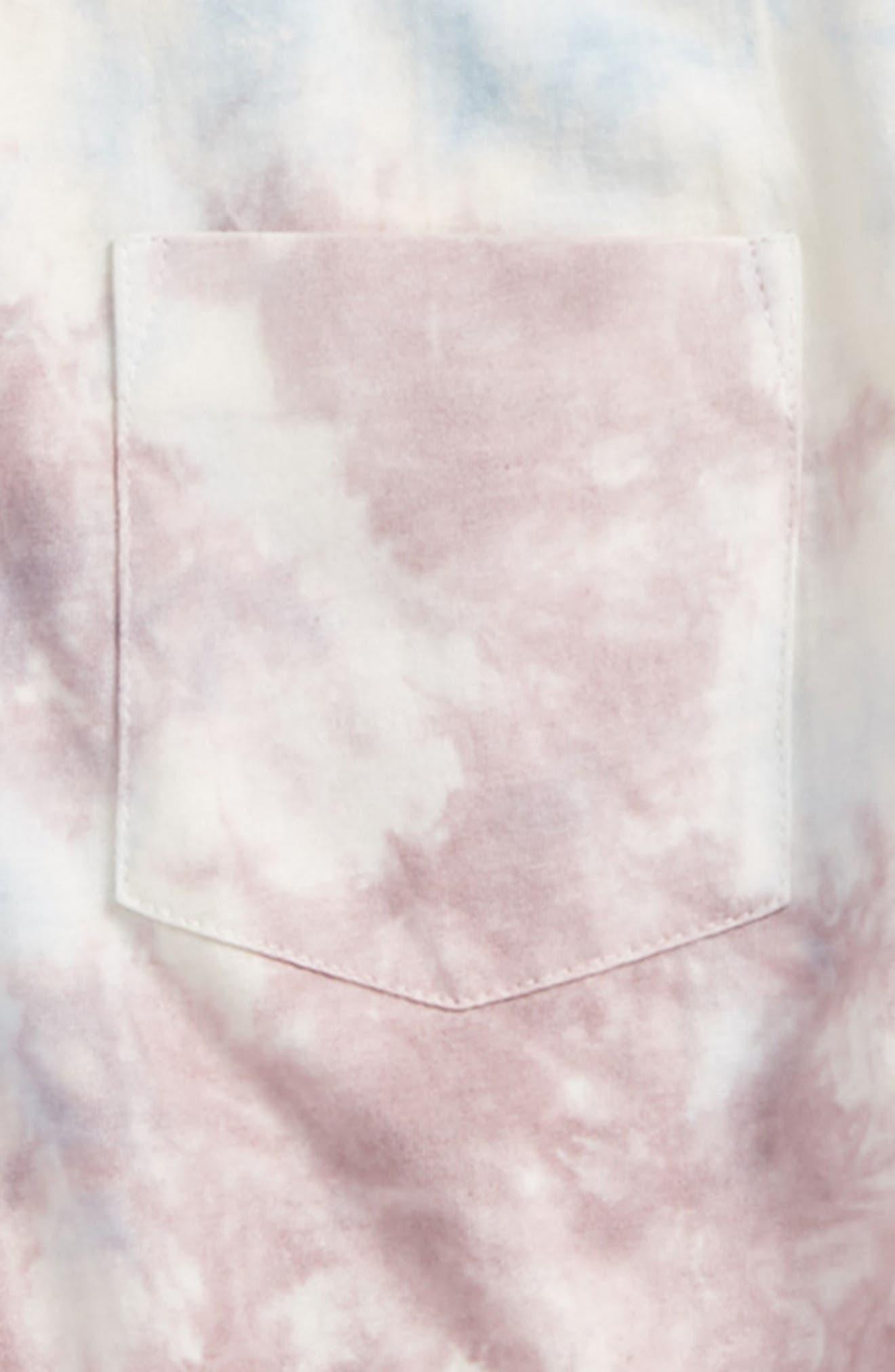 TREASURE & BOND,                             Tie Dye T-Shirt,                             Alternate thumbnail 2, color,                             900