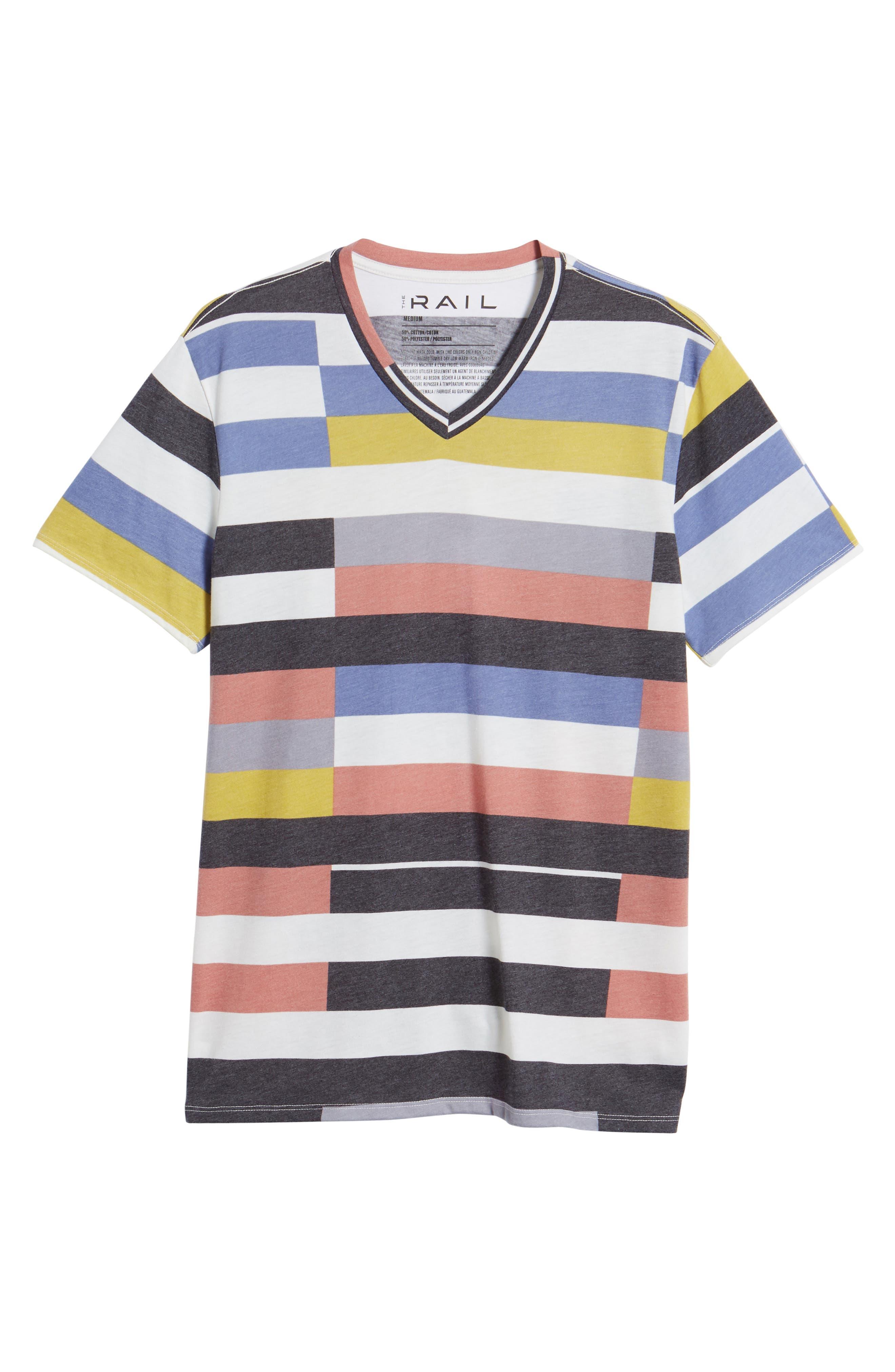 V-Neck T-Shirt,                             Alternate thumbnail 40, color,