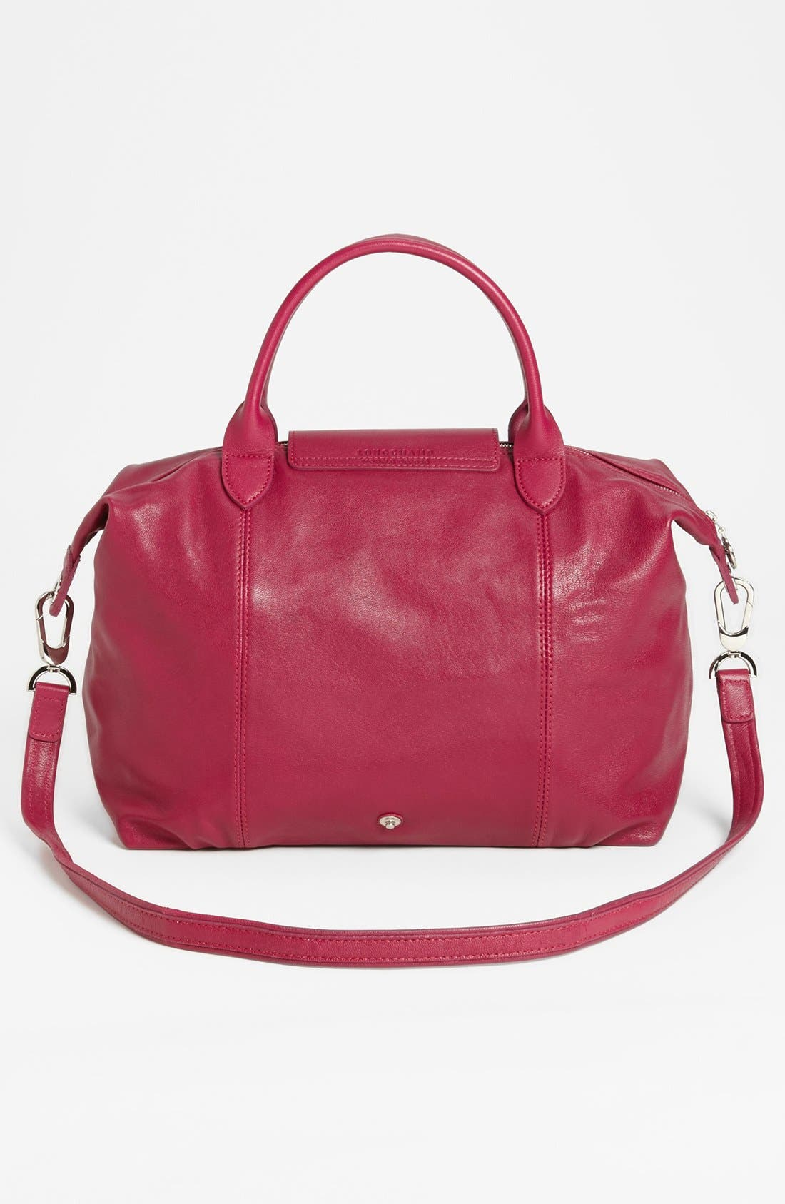 Medium 'Le Pliage Cuir' Leather Top Handle Tote,                             Alternate thumbnail 50, color,