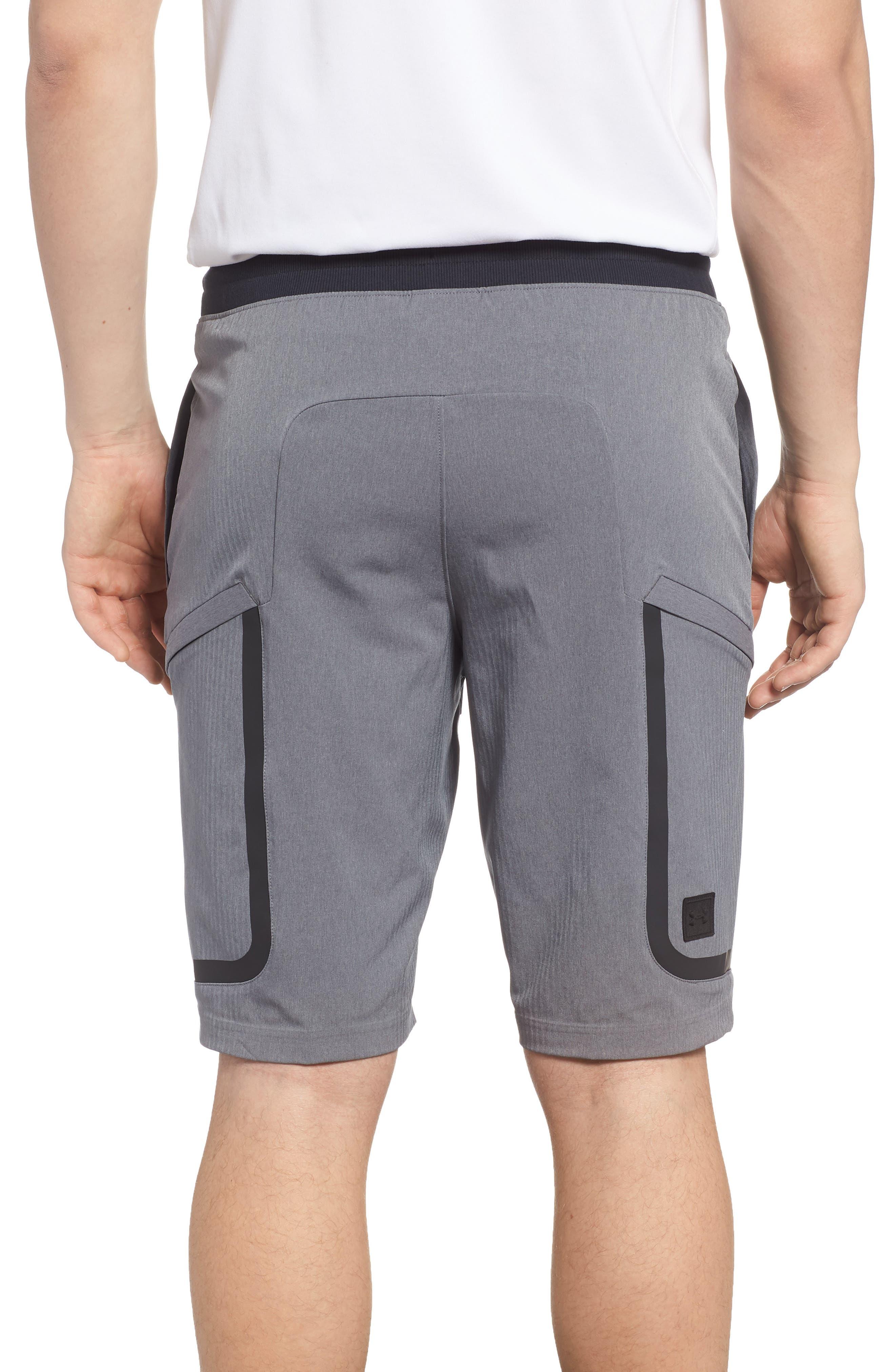 Sportstyle Elite Cargo Shorts,                             Alternate thumbnail 2, color,                             STEEL FULL HEATHER / / BLACK