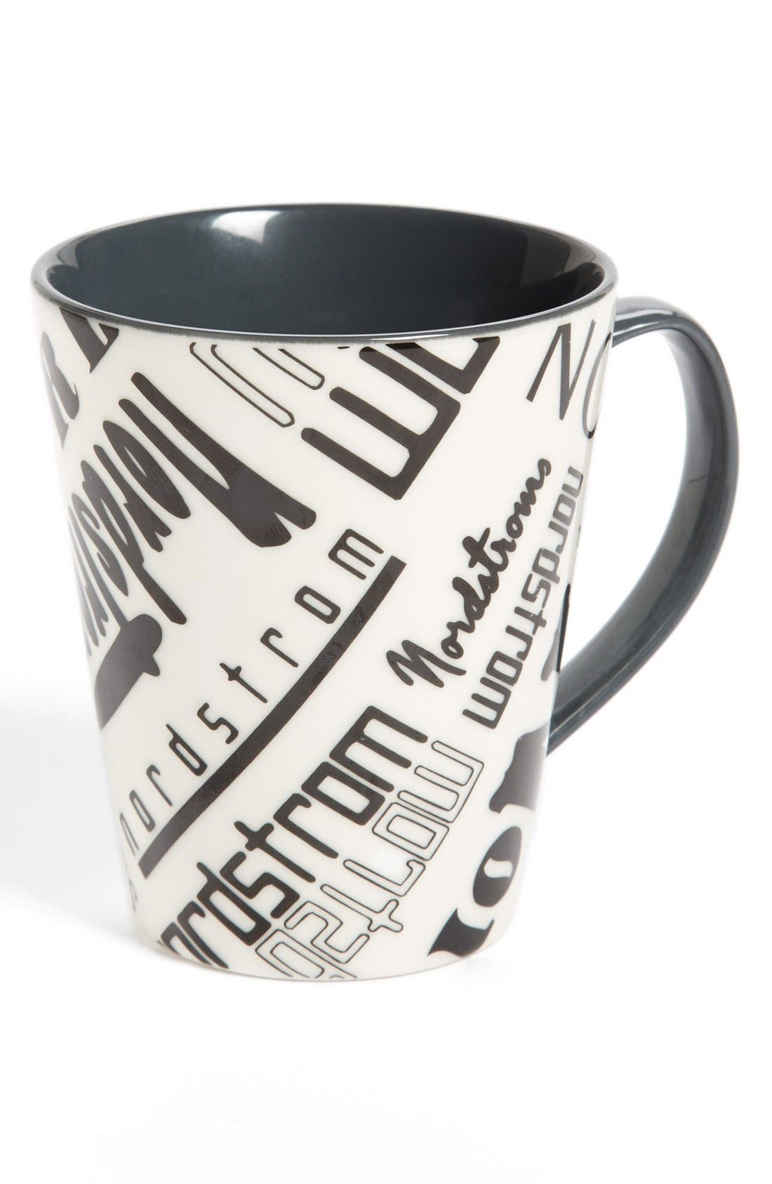 NORDSTROM AT HOME,                             Nordstrom Heritage Collection 'Historical Nordstrom Logo' Print Coffee Mug,                             Main thumbnail 1, color,                             020