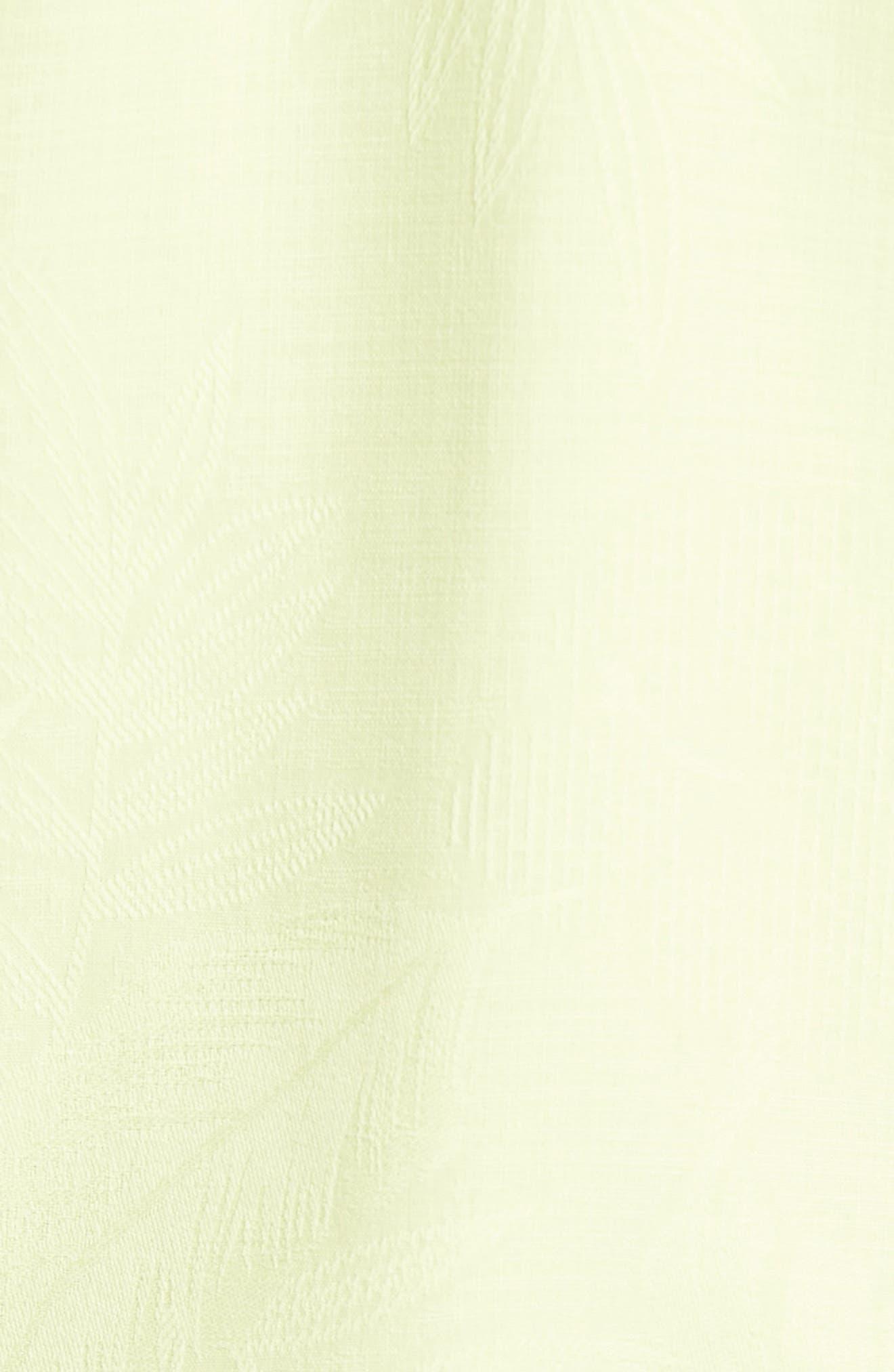 Rio Fronds Short Sleeve Silk Sport Shirt,                             Alternate thumbnail 79, color,