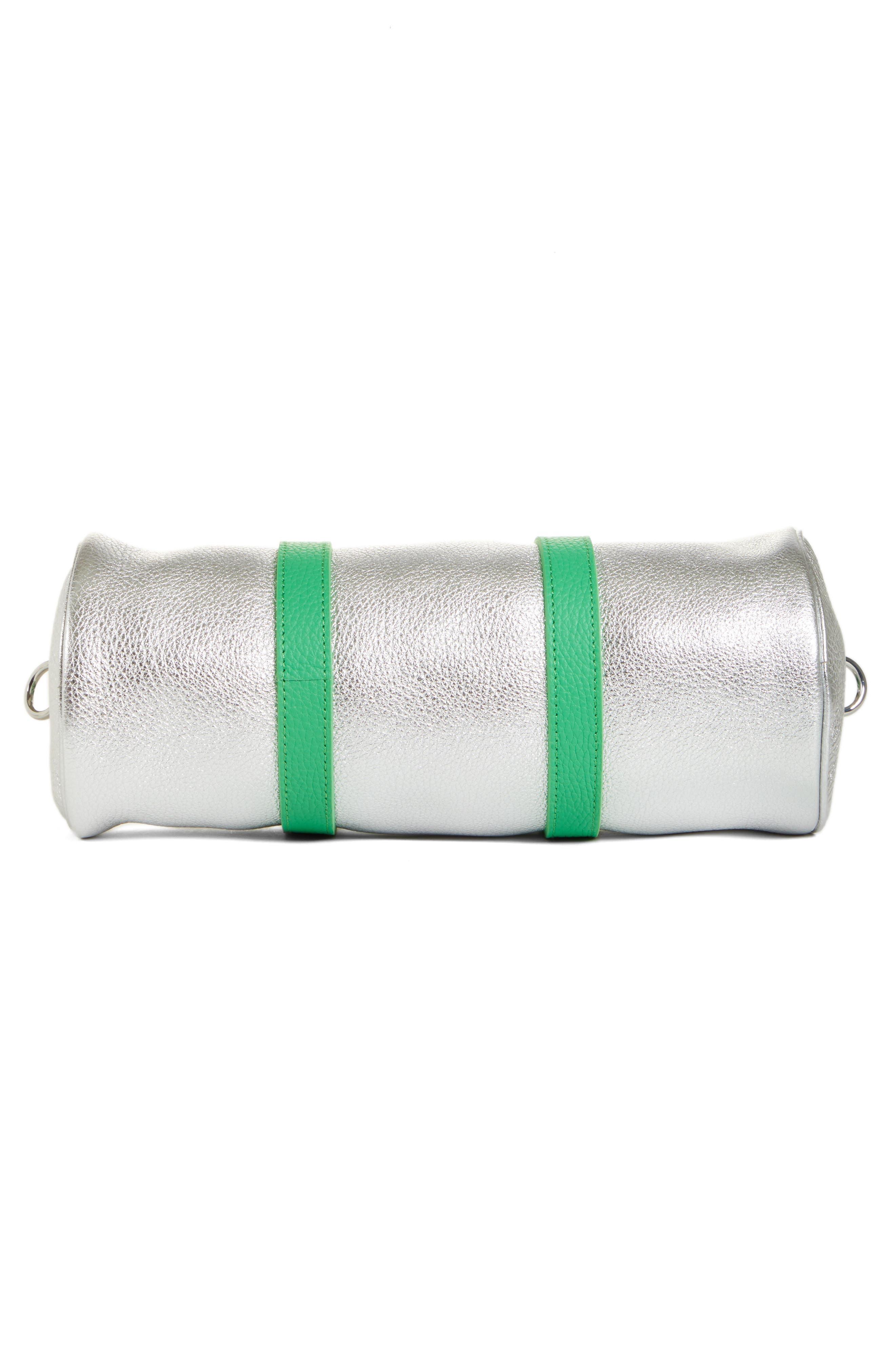 Mini Tool Kit Shoulder Bag,                             Alternate thumbnail 6, color,                             TIN FOIL
