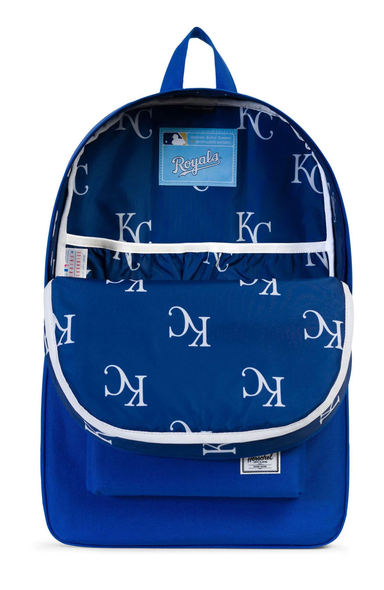 Heritage Kansas City Royals Backpack,                             Alternate thumbnail 3, color,                             455
