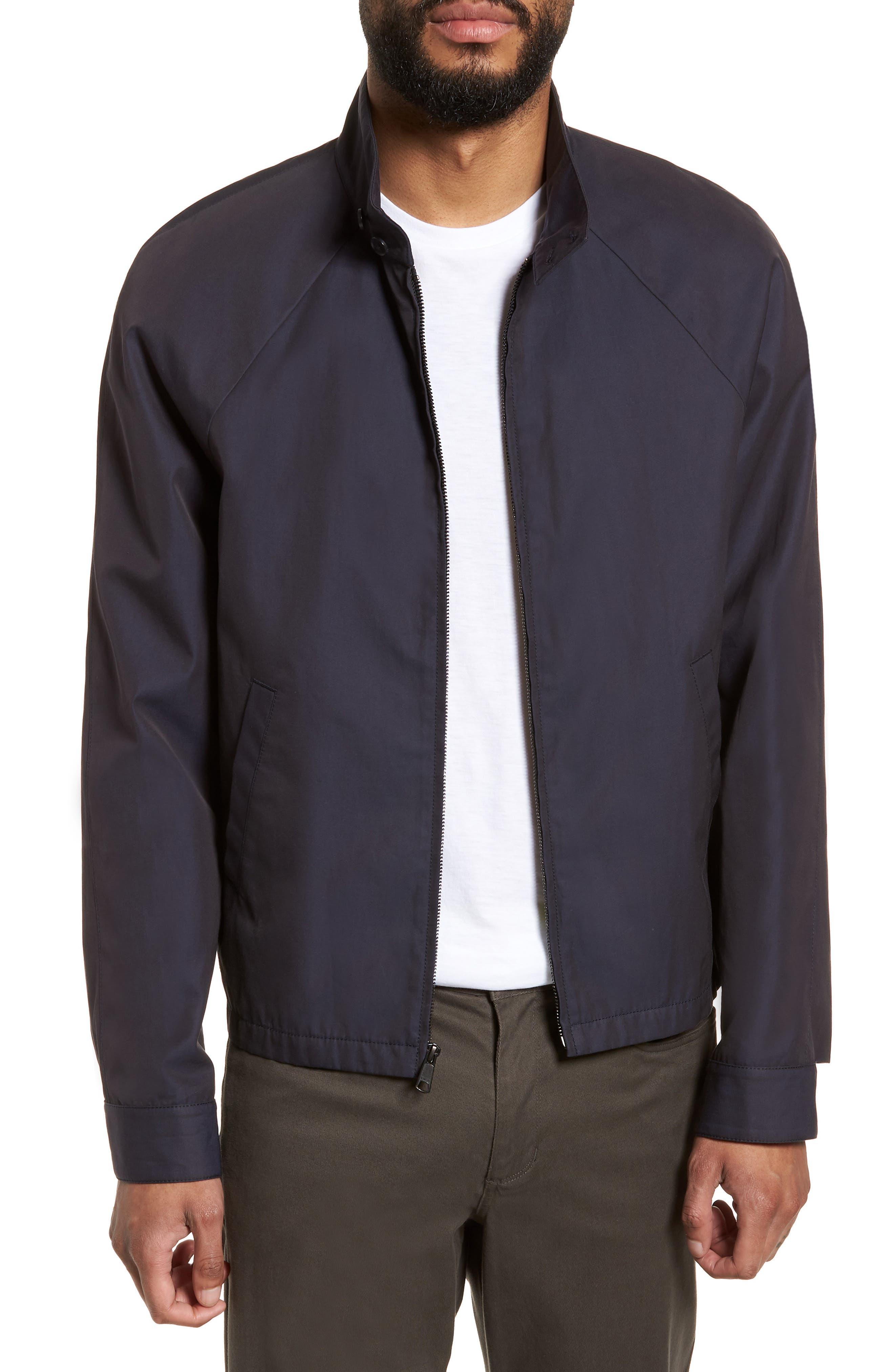 Regular Fit Jacket,                         Main,                         color, NAVY