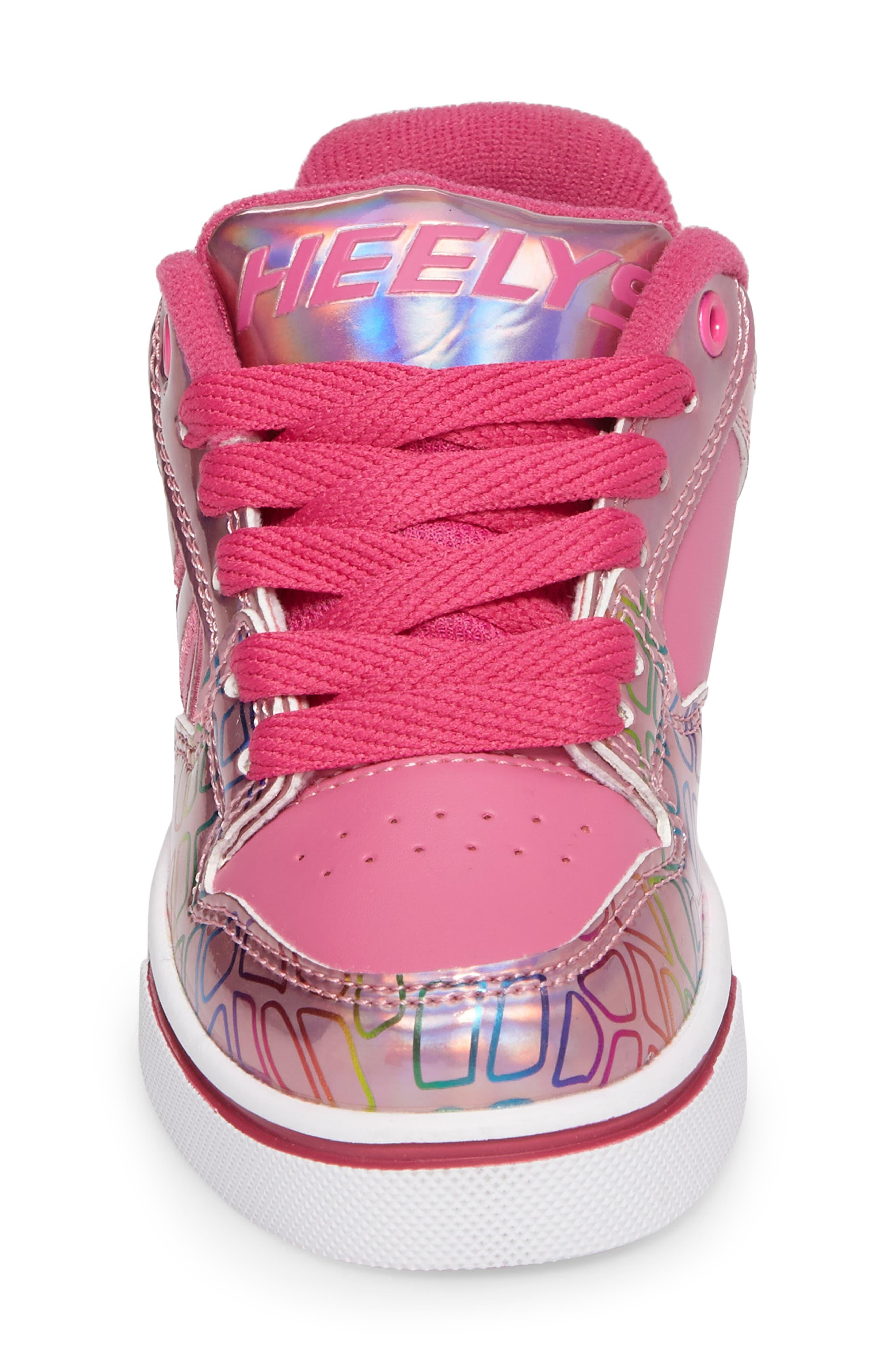Motion Plus Skate Sneaker,                             Alternate thumbnail 4, color,                             PINK/ LIGHT PINK
