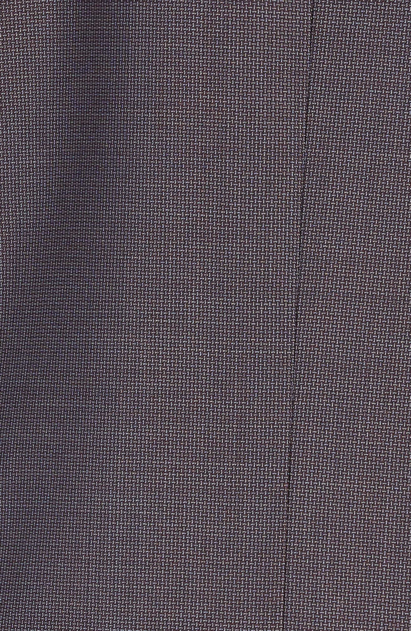 Jay Trim Fit Solid Wool Suit,                             Alternate thumbnail 6, color,                             GREY