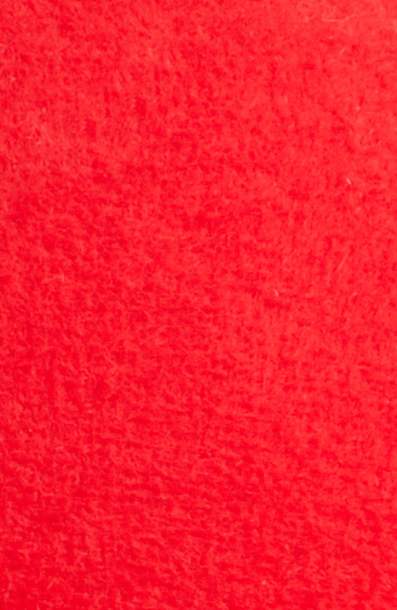 x Disney Mickey True Original Walt Felt Cap,                             Alternate thumbnail 3, color,                             RED