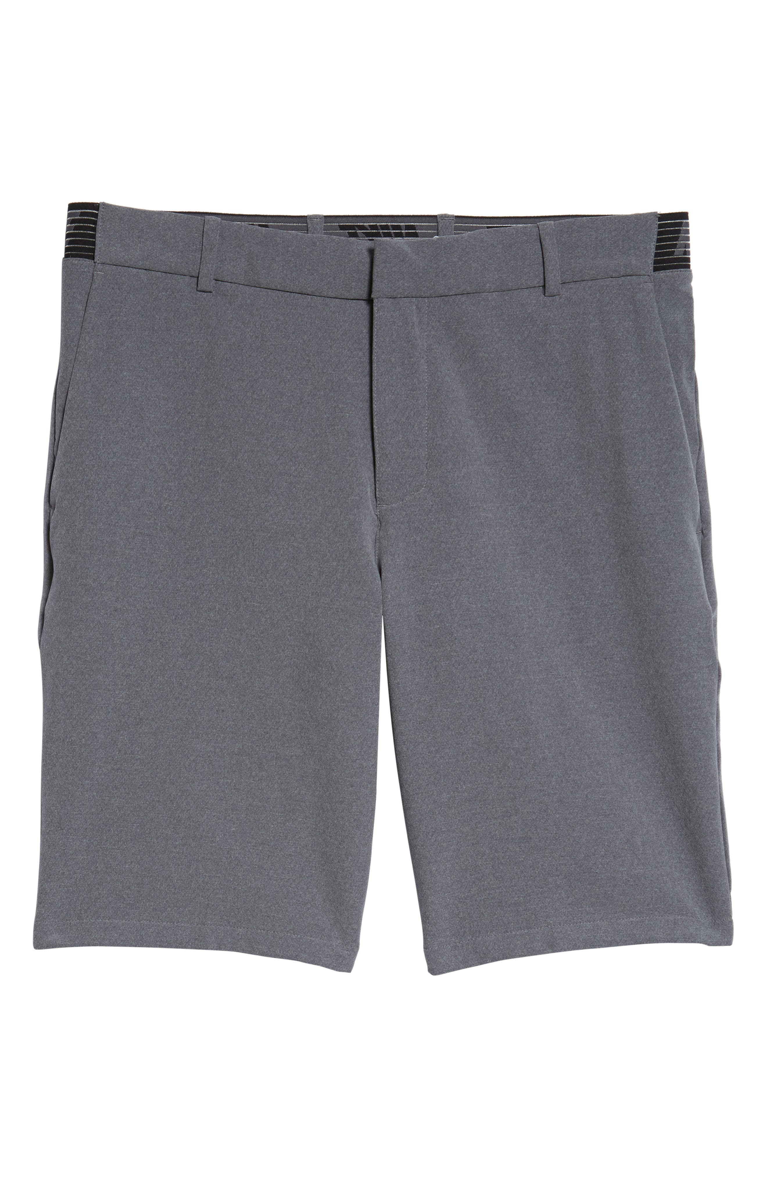 Dry Flex Slim Fit Golf Shorts,                             Alternate thumbnail 6, color,                             001
