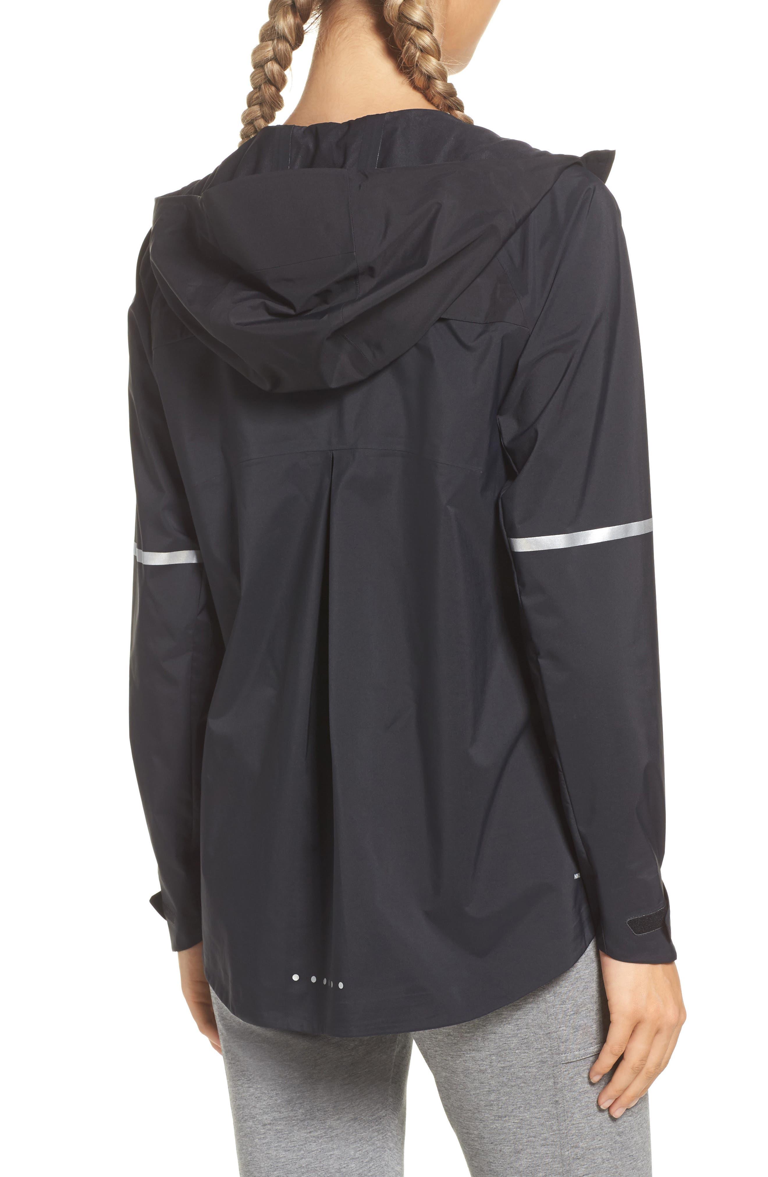 Zonal AeroShield Hooded Running Jacket,                             Alternate thumbnail 2, color,                             010